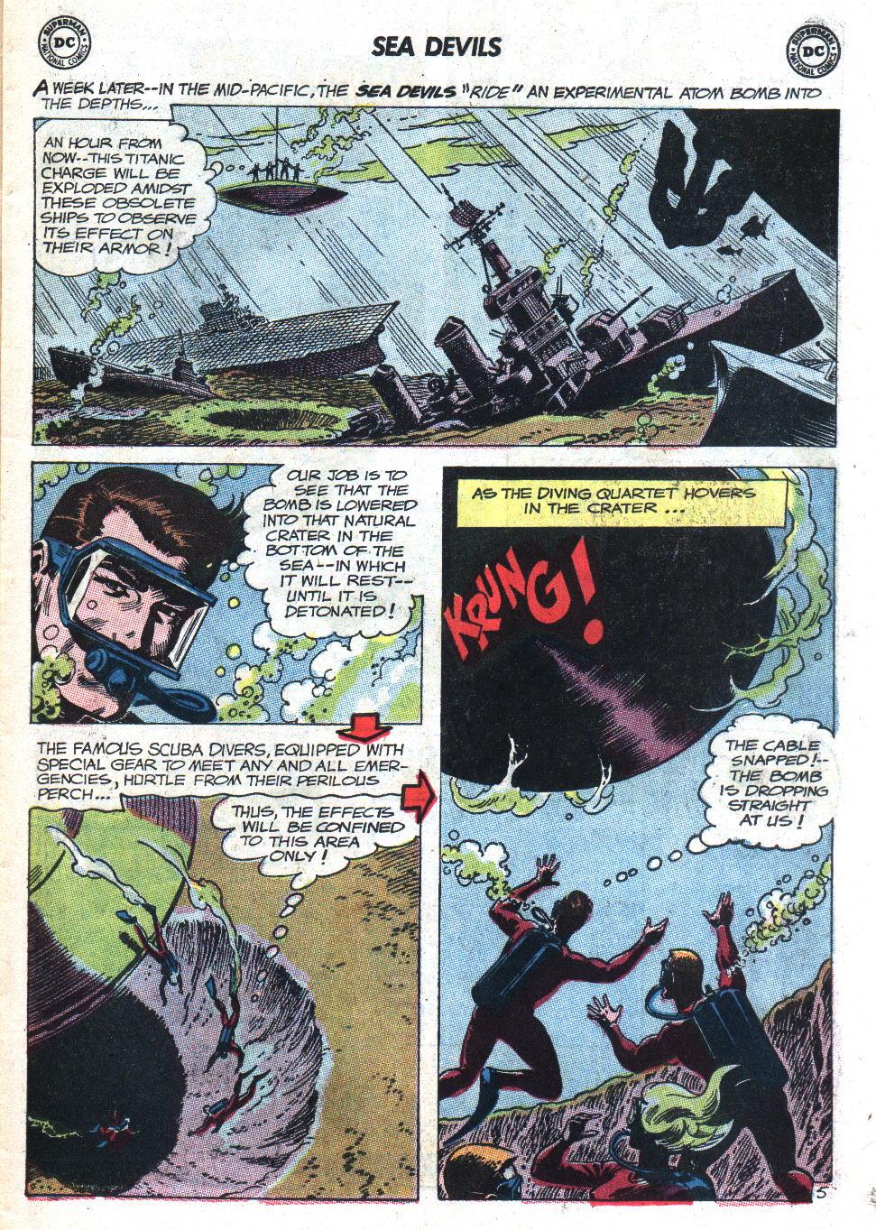 Read online Sea Devils comic -  Issue #9 - 8