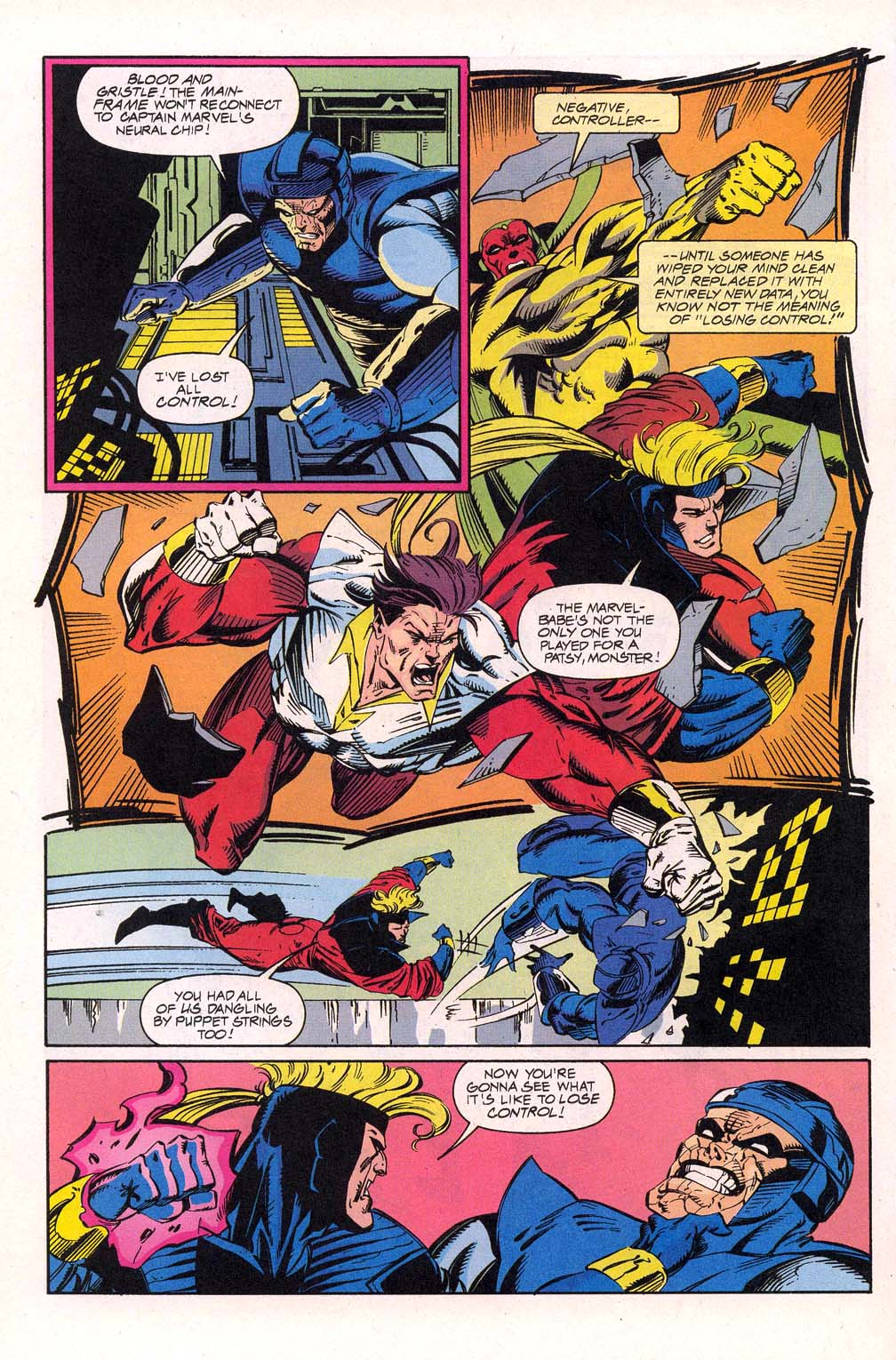 Avengers Unplugged issue 5 - Page 21
