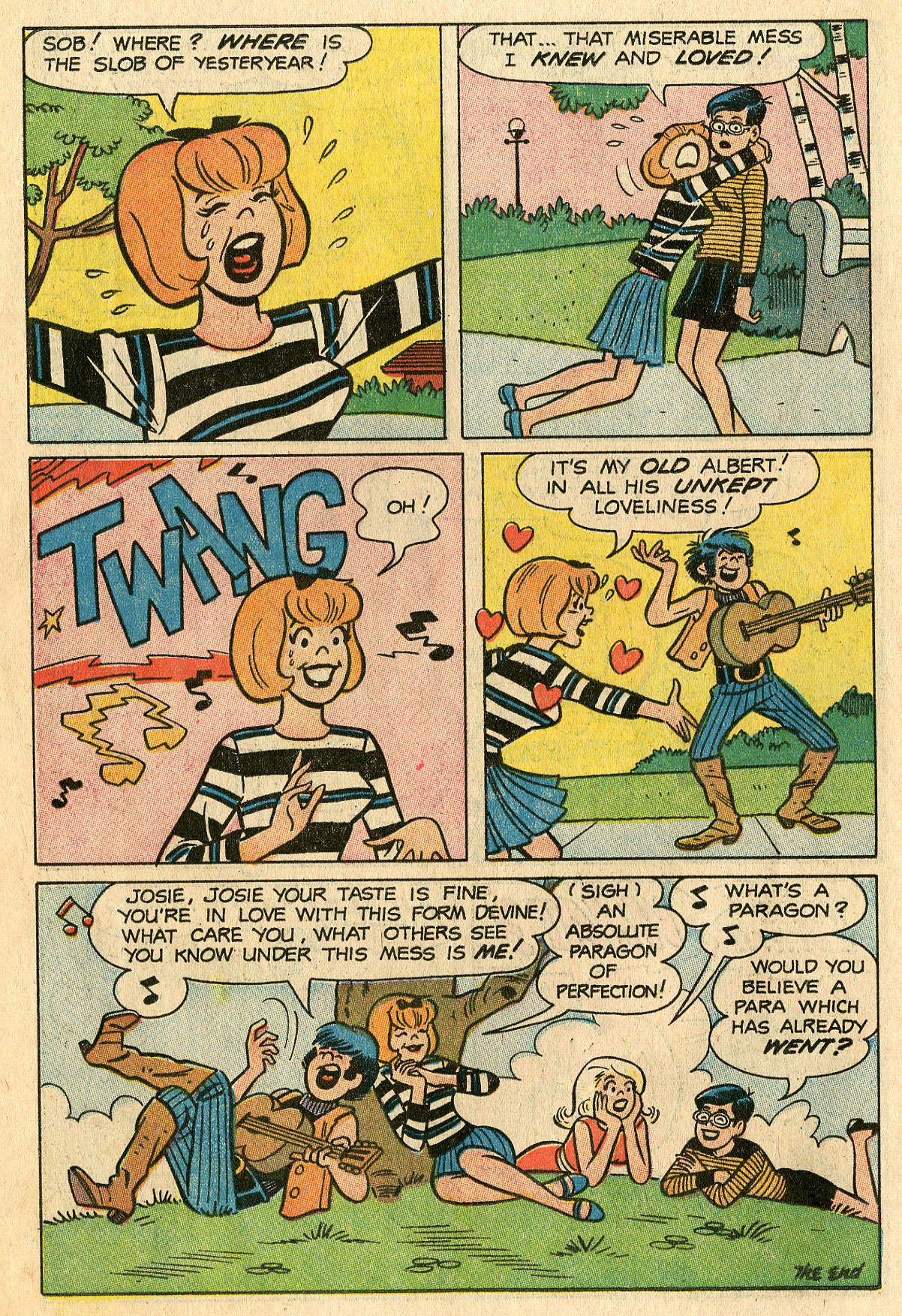 Read online She's Josie comic -  Issue #29 - 18