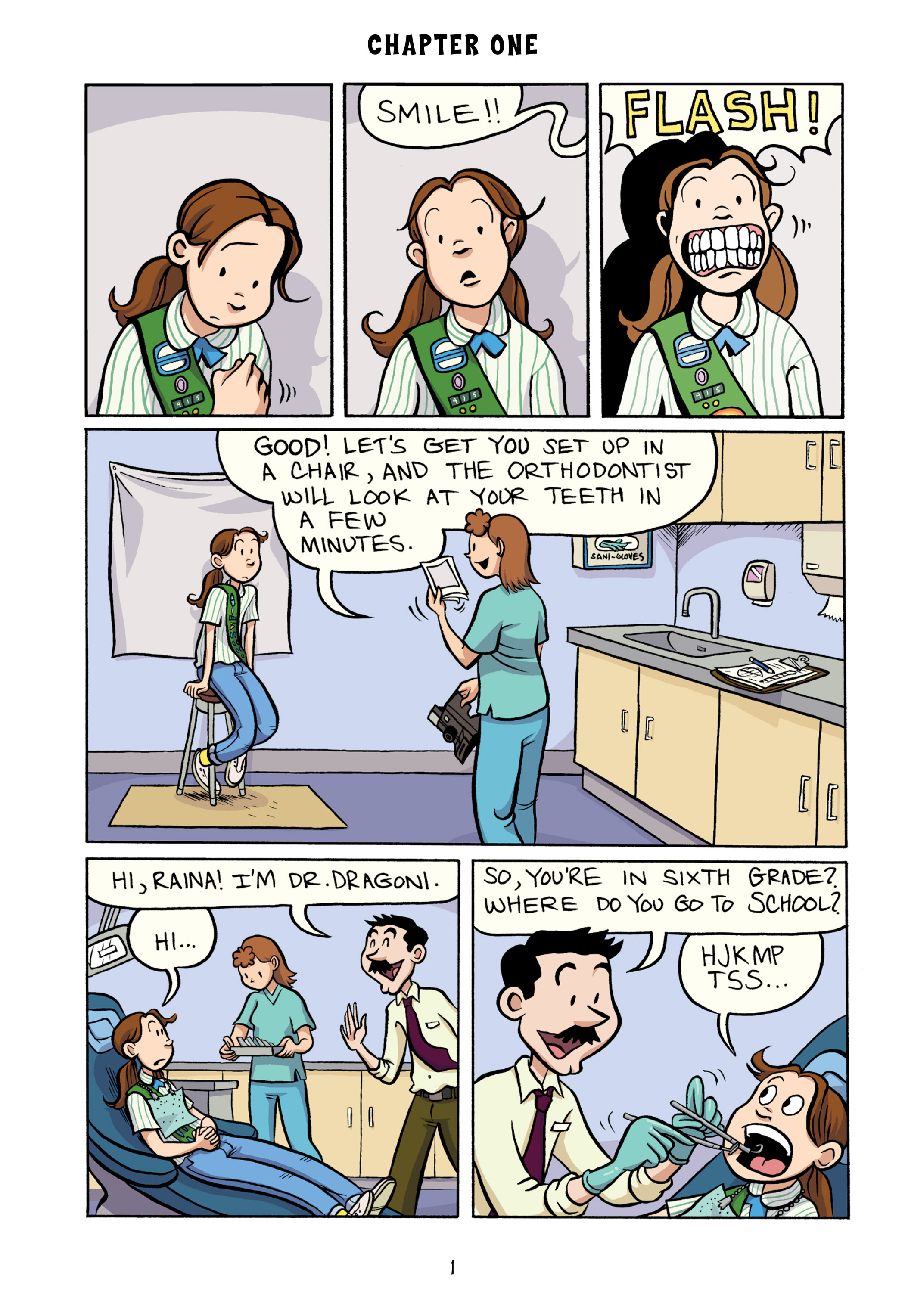 Read online Smile comic -  Issue # TPB - 7