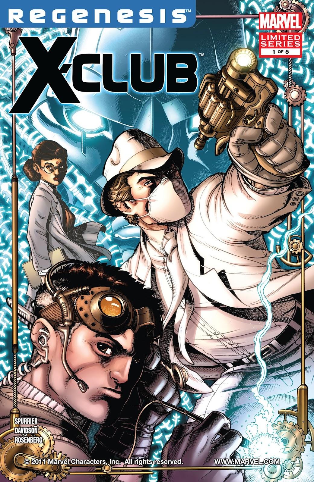 X-Club 1 Page 1