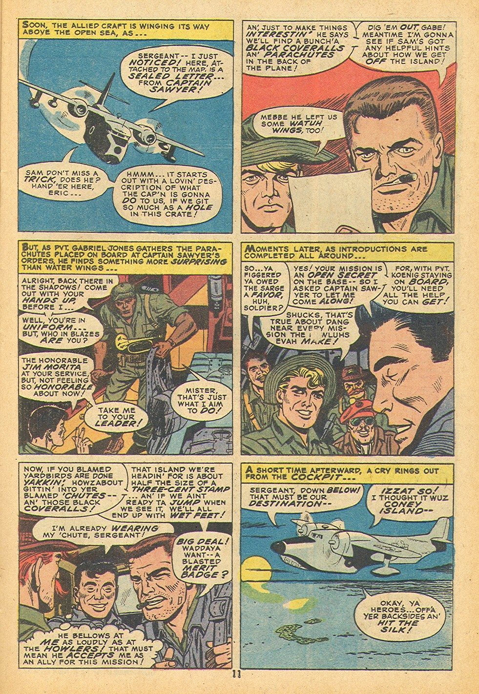 Read online Sgt. Fury comic -  Issue #109 - 13
