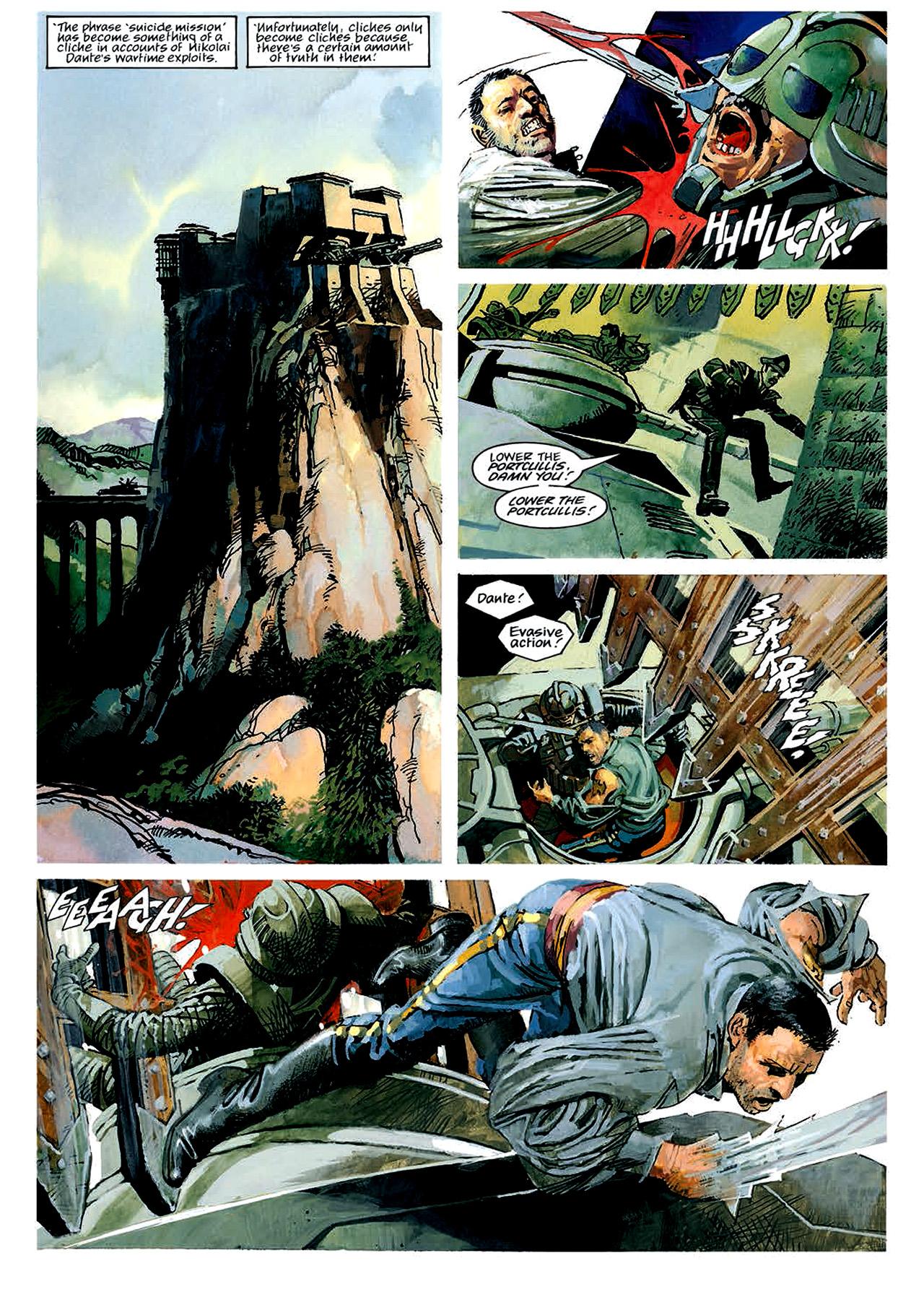 Read online Nikolai Dante comic -  Issue # TPB 4 - 40