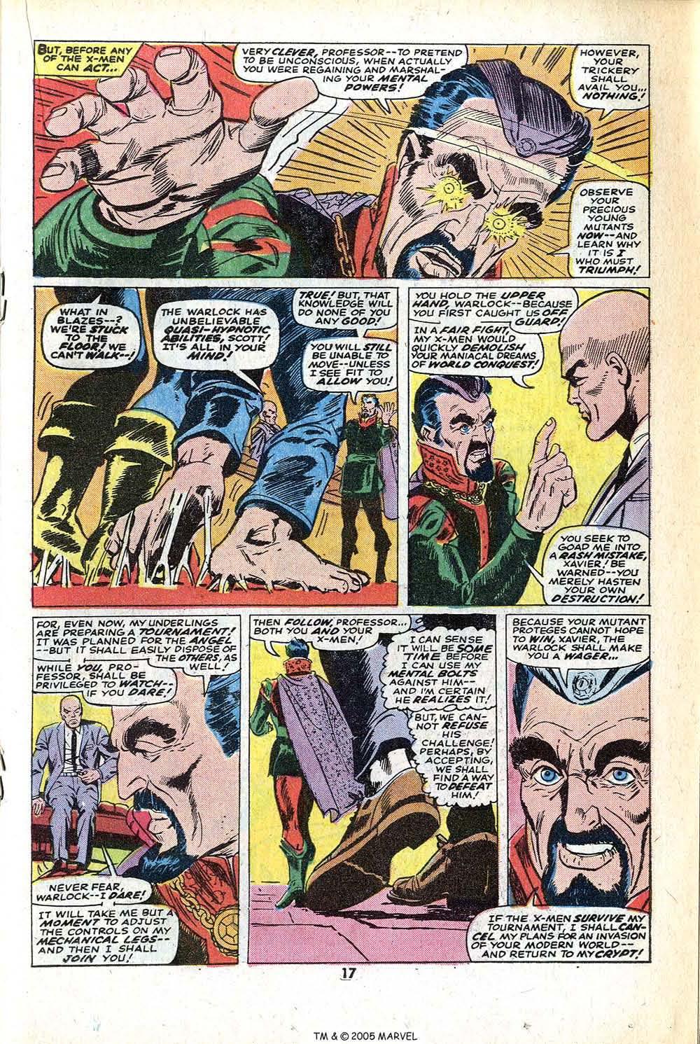 Read online Uncanny X-Men (1963) comic -  Issue #78 - 19