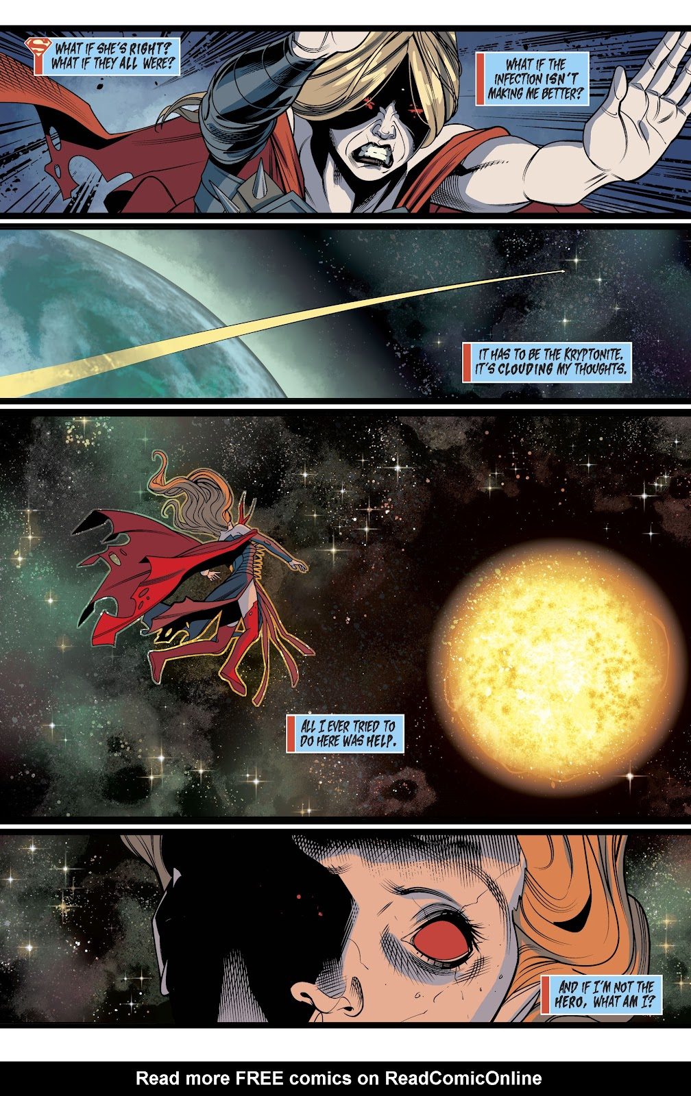 Read online Supergirl (2016) comic -  Issue #40 - 20