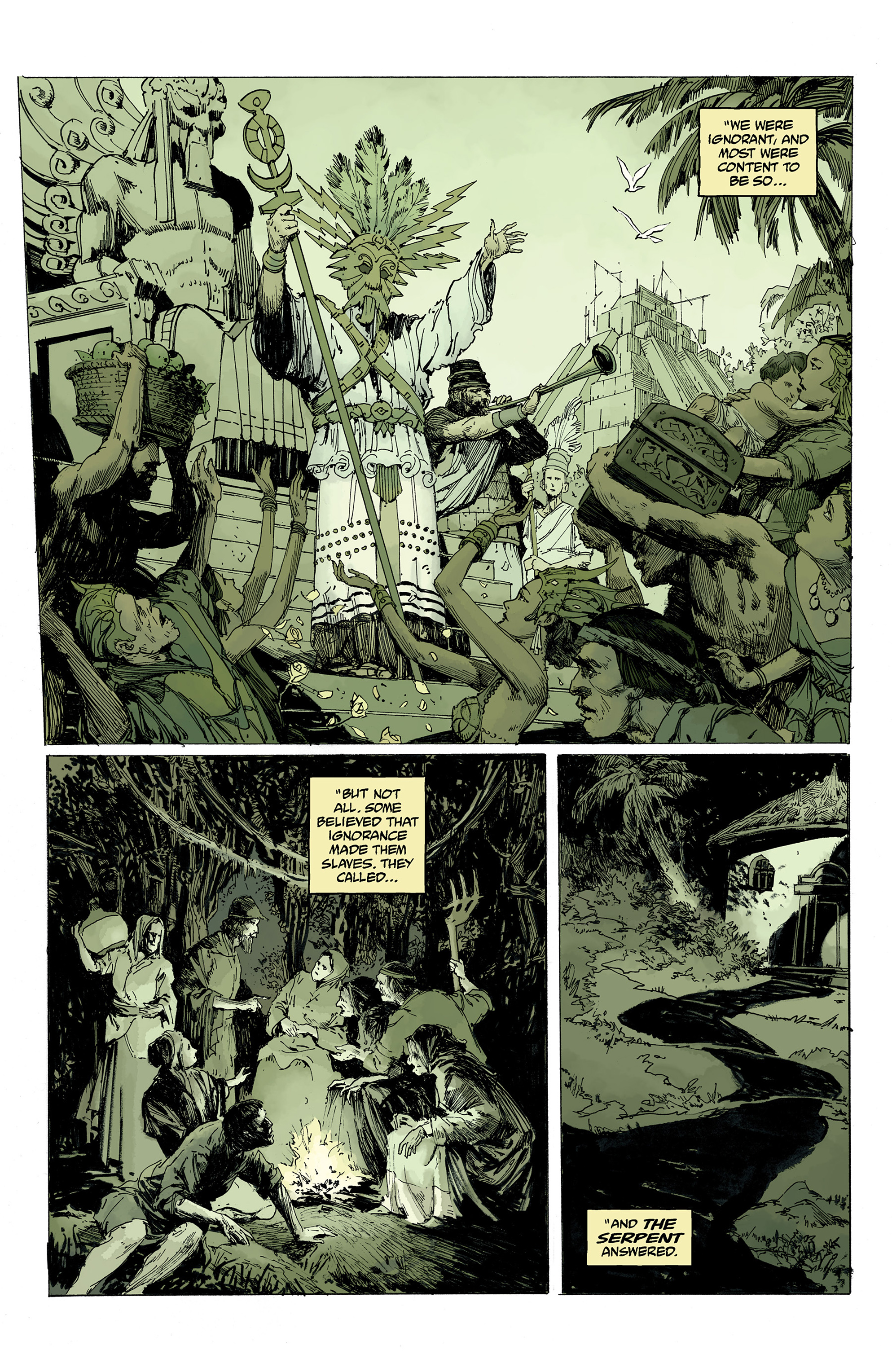 Read online Hellboy: Into the Silent Sea comic -  Issue # Full - 30