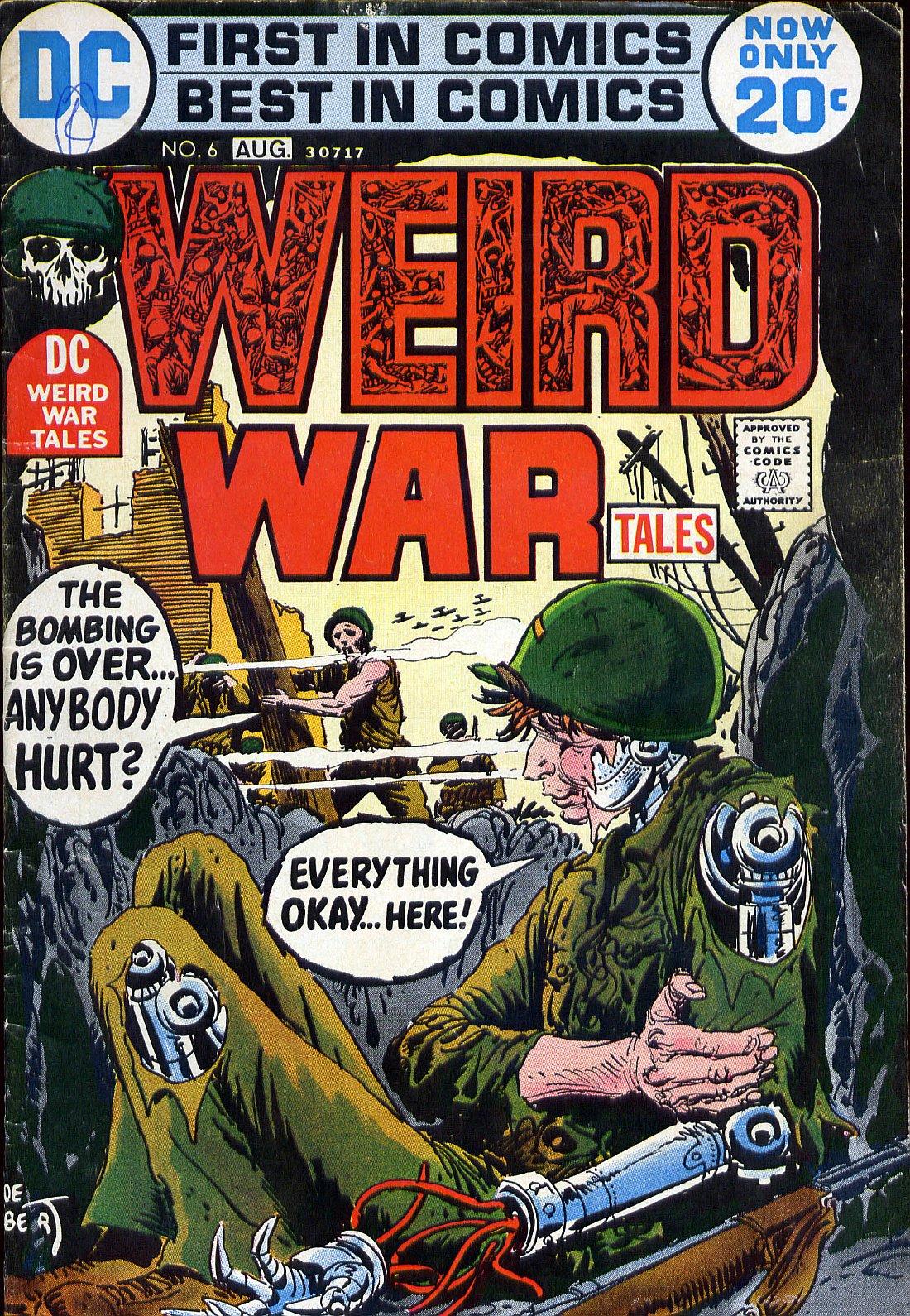 Weird War Tales (1971) issue 6 - Page 1