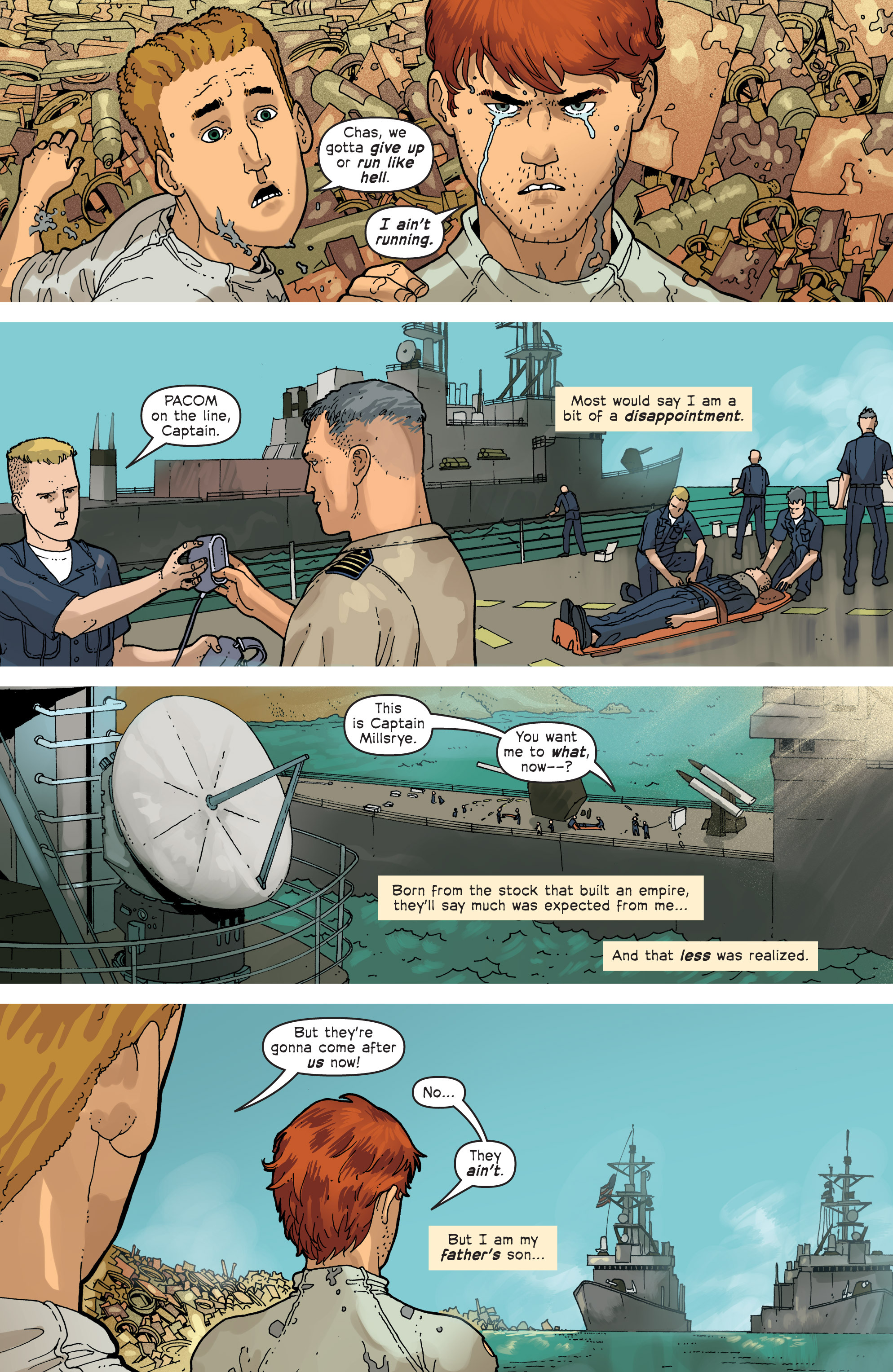 Read online Great Pacific comic -  Issue #6 - 21