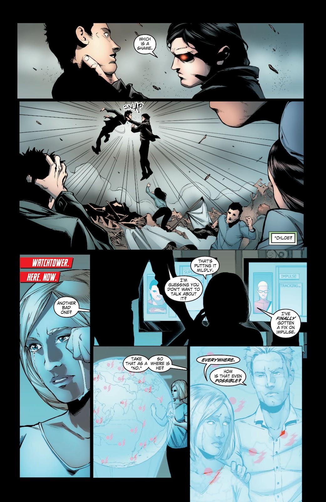 Read online Smallville Season 11 [II] comic -  Issue # TPB 3 - 105