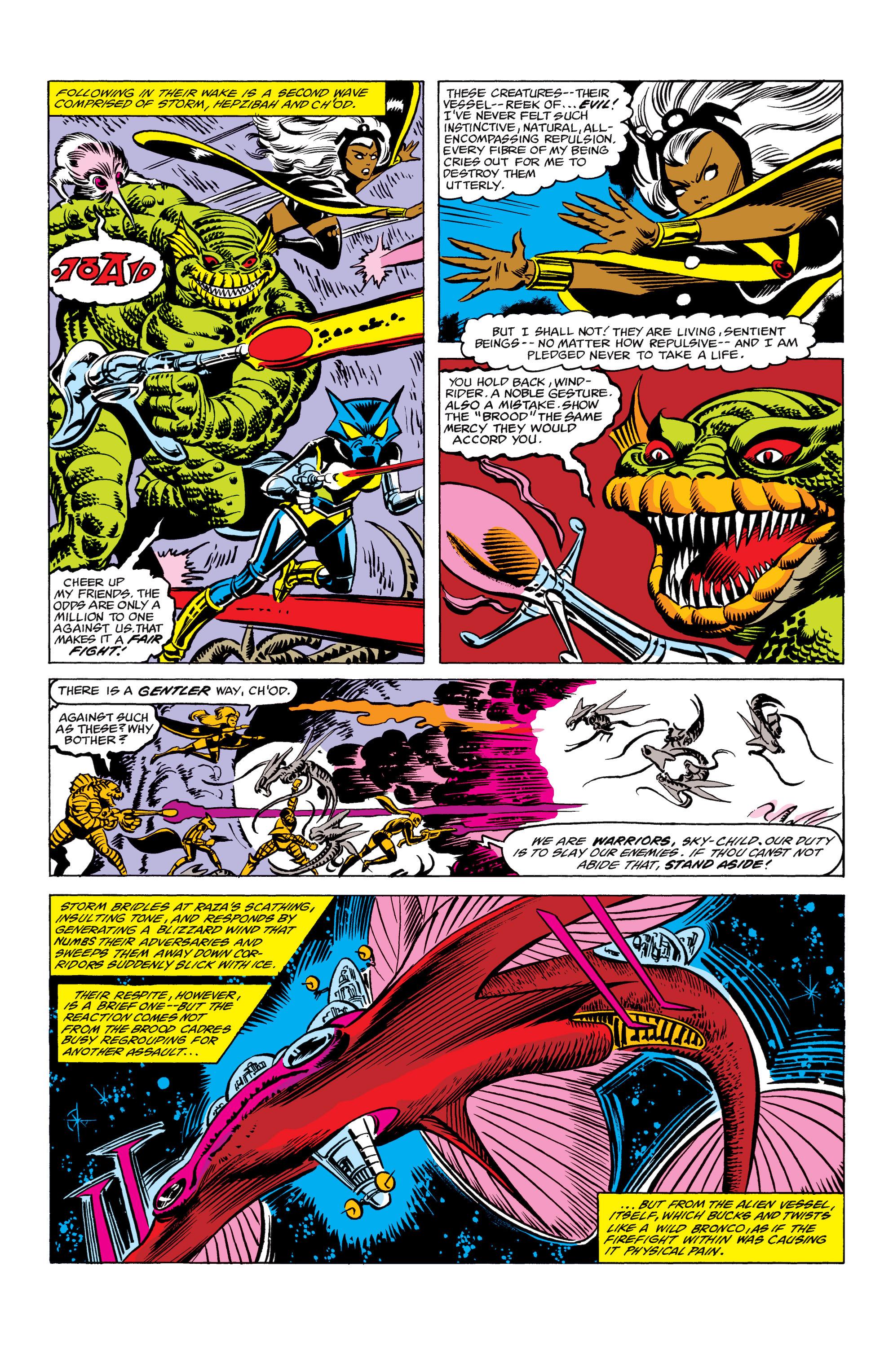 Read online Uncanny X-Men (1963) comic -  Issue #156 - 16