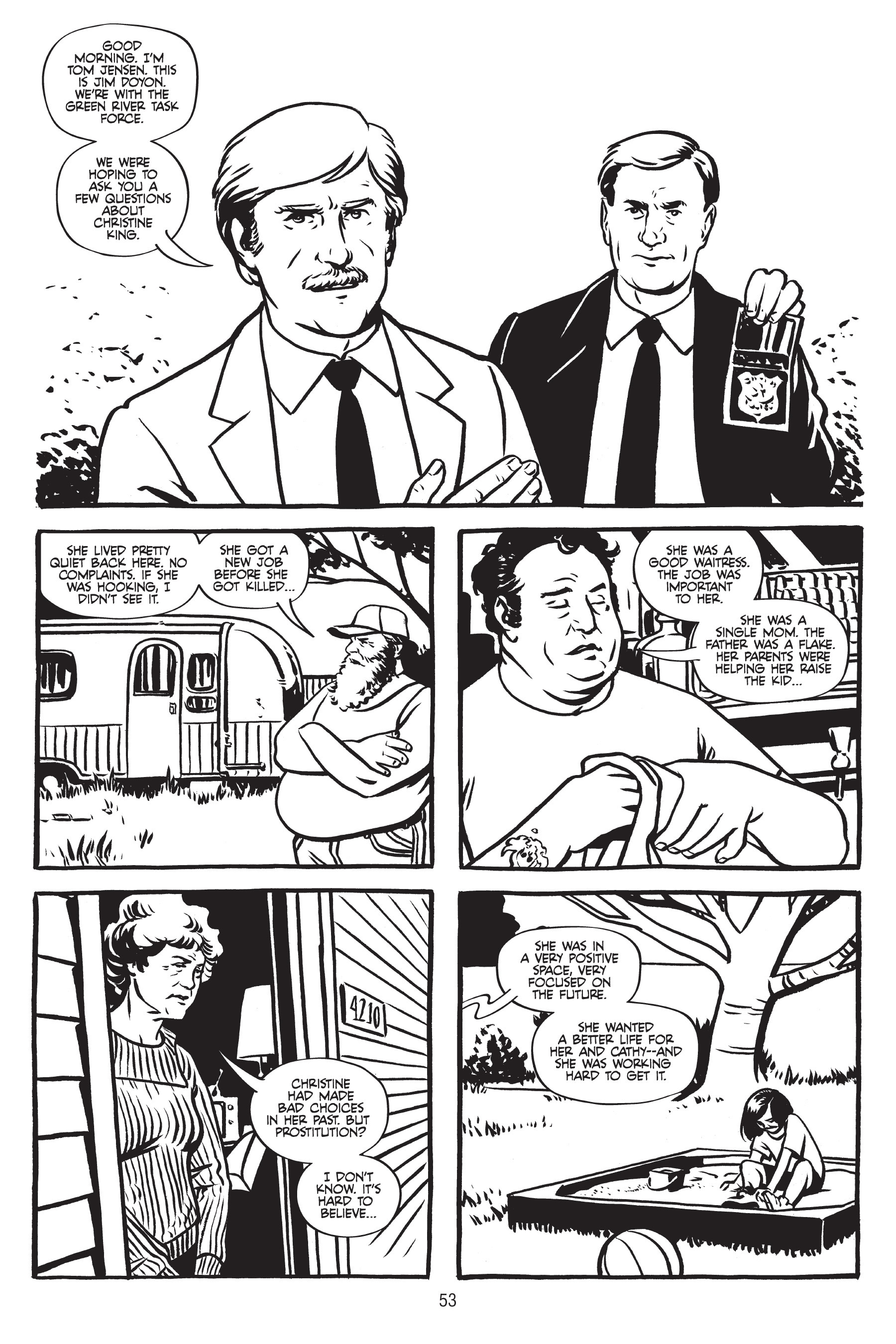 Read online Green River Killer: A True Detective Story comic -  Issue # TPB - 50