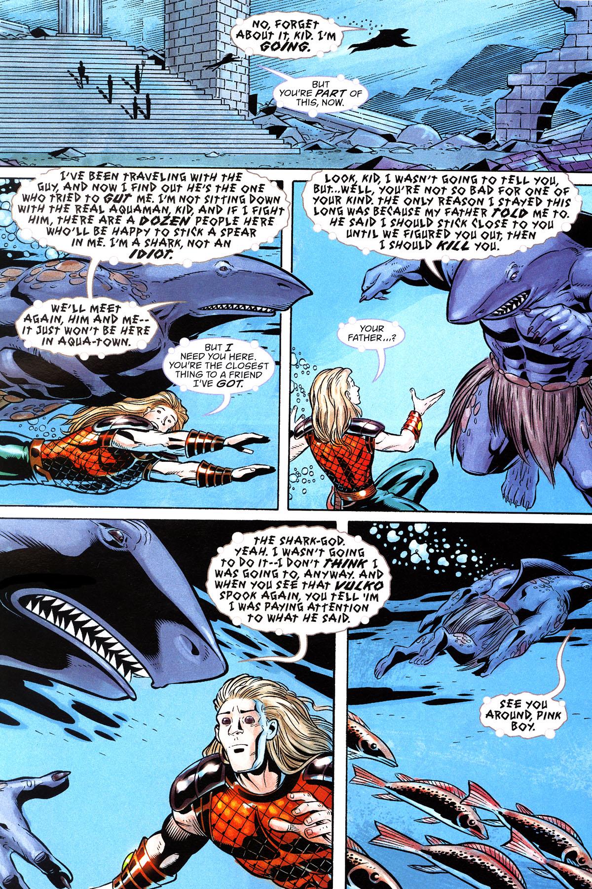 Read online Aquaman: Sword of Atlantis comic -  Issue #50 - 22