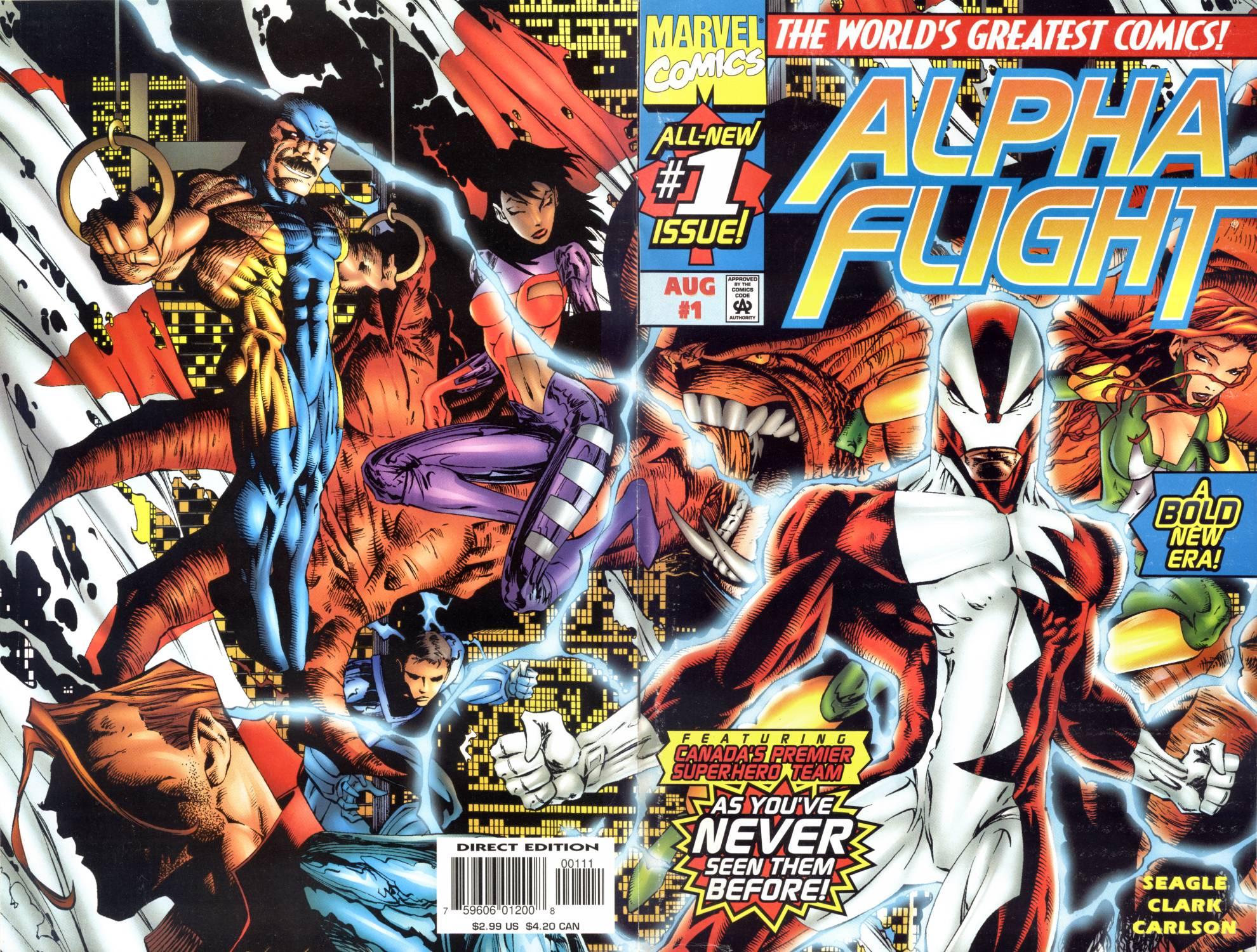 Read online Alpha Flight (1997) comic -  Issue #1 - 1