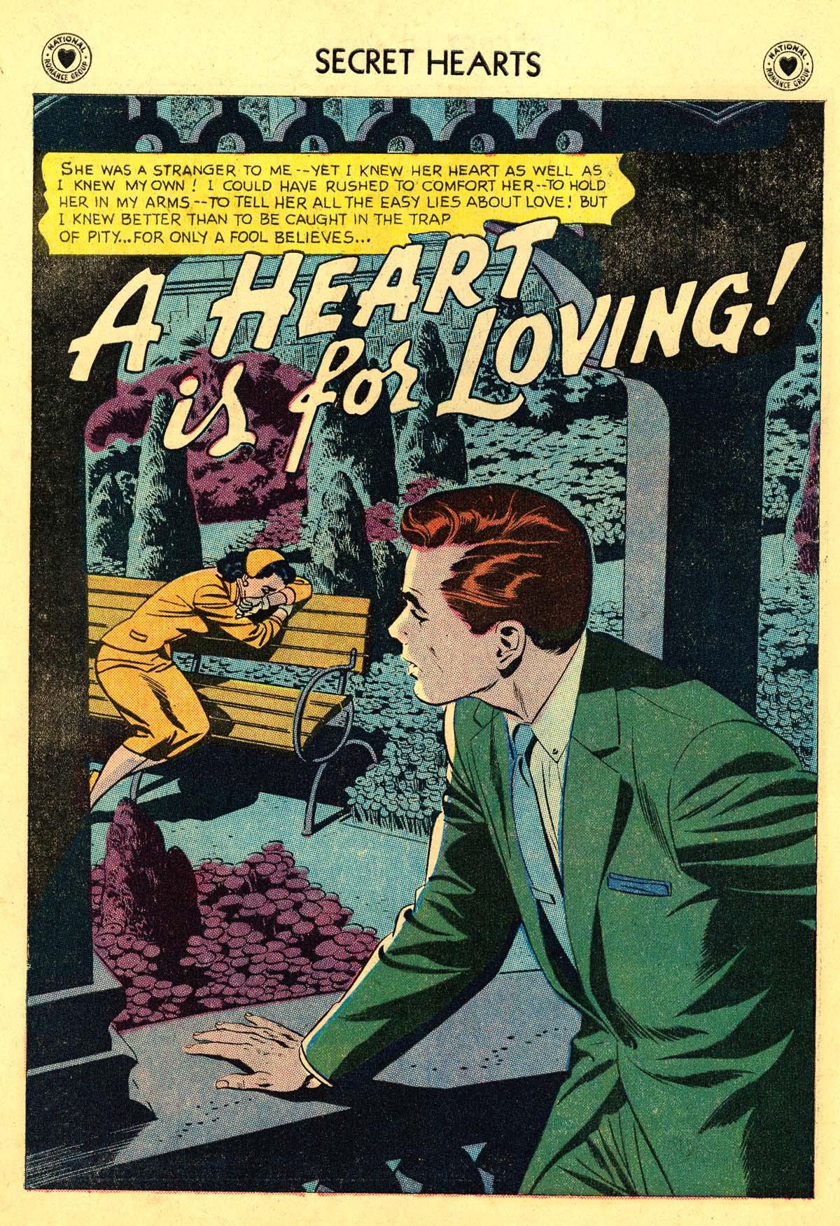 Read online Secret Hearts comic -  Issue #54 - 26