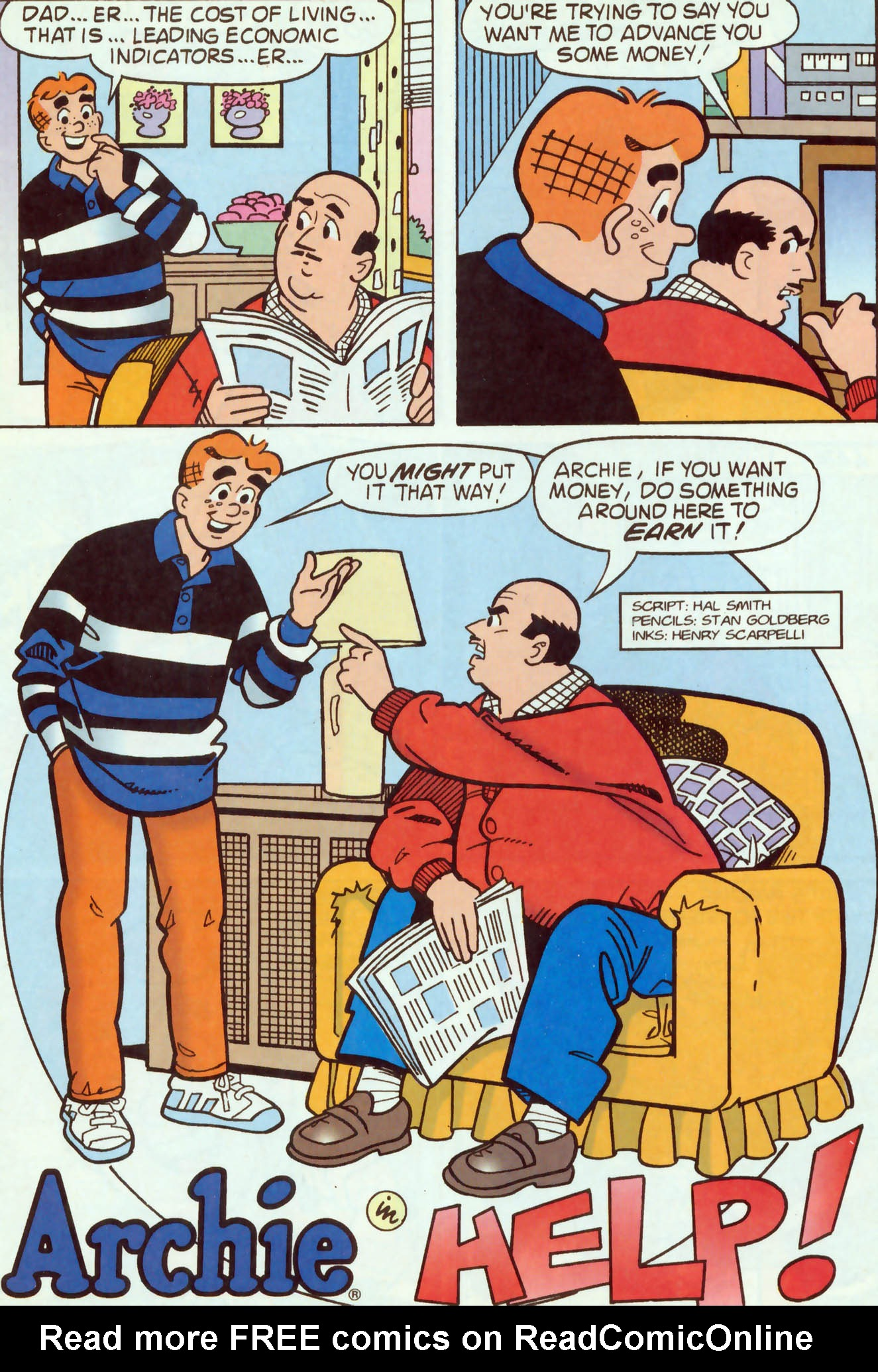 Read online Archie (1960) comic -  Issue #460 - 14
