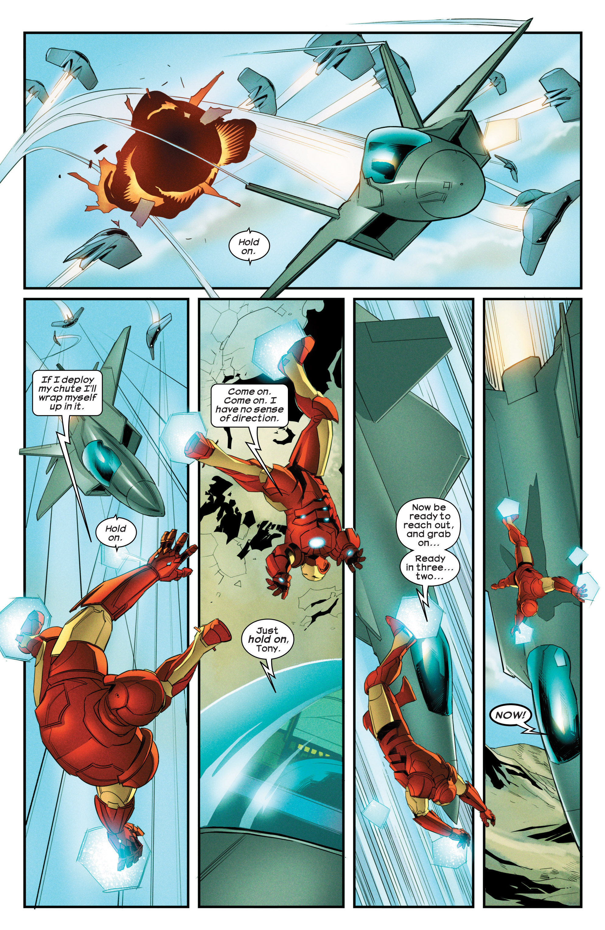 Read online Ultimate Comics Iron Man comic -  Issue #3 - 6