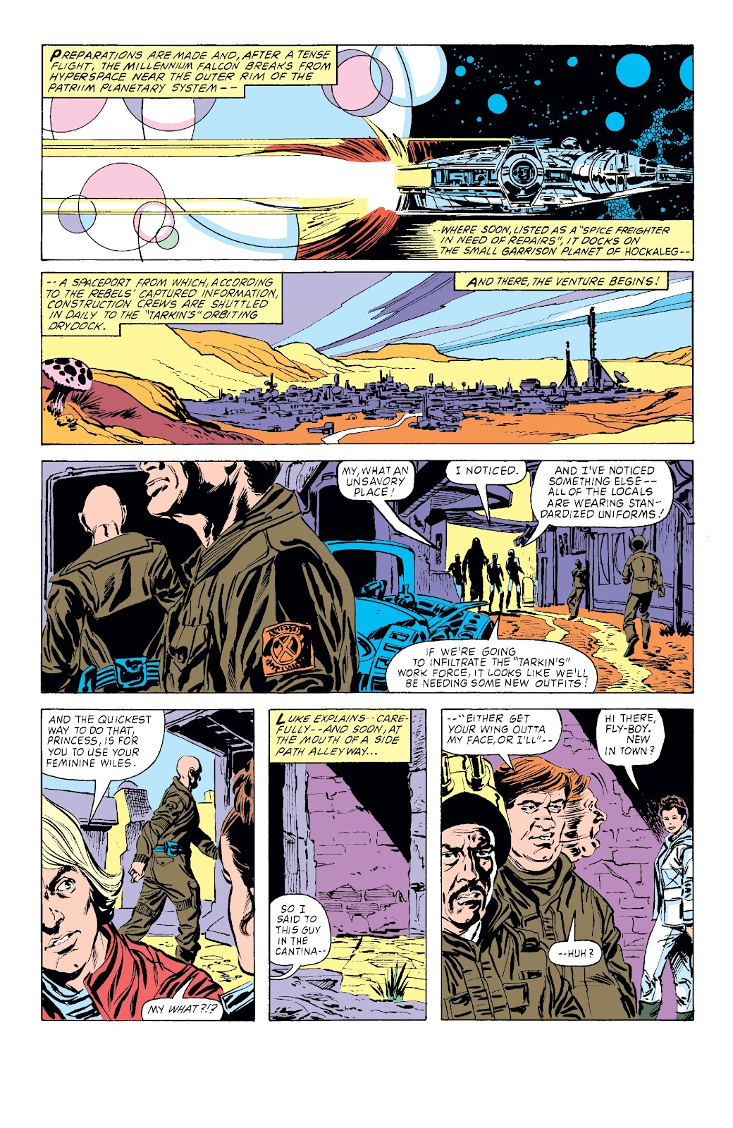 Read online Star Wars Legends: The Original Marvel Years - Epic Collection comic -  Issue # TPB 3 (Part 3) - 83