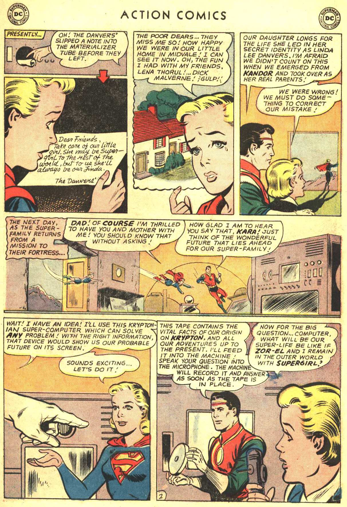 Read online Action Comics (1938) comic -  Issue #316 - 19