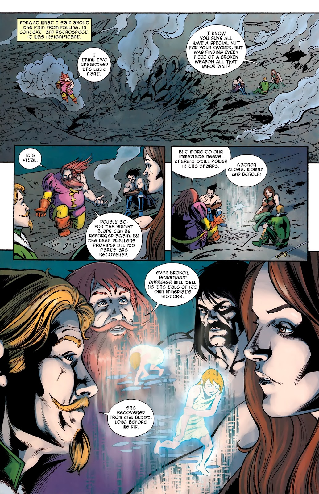 Warriors Three Issue #4 #4 - English 9