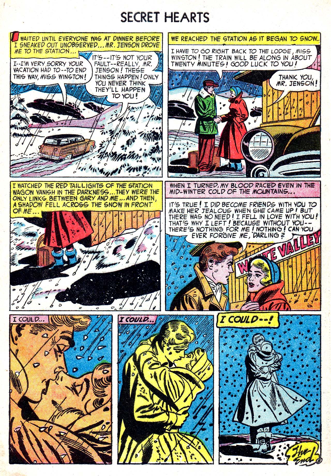 Read online Secret Hearts comic -  Issue #20 - 33