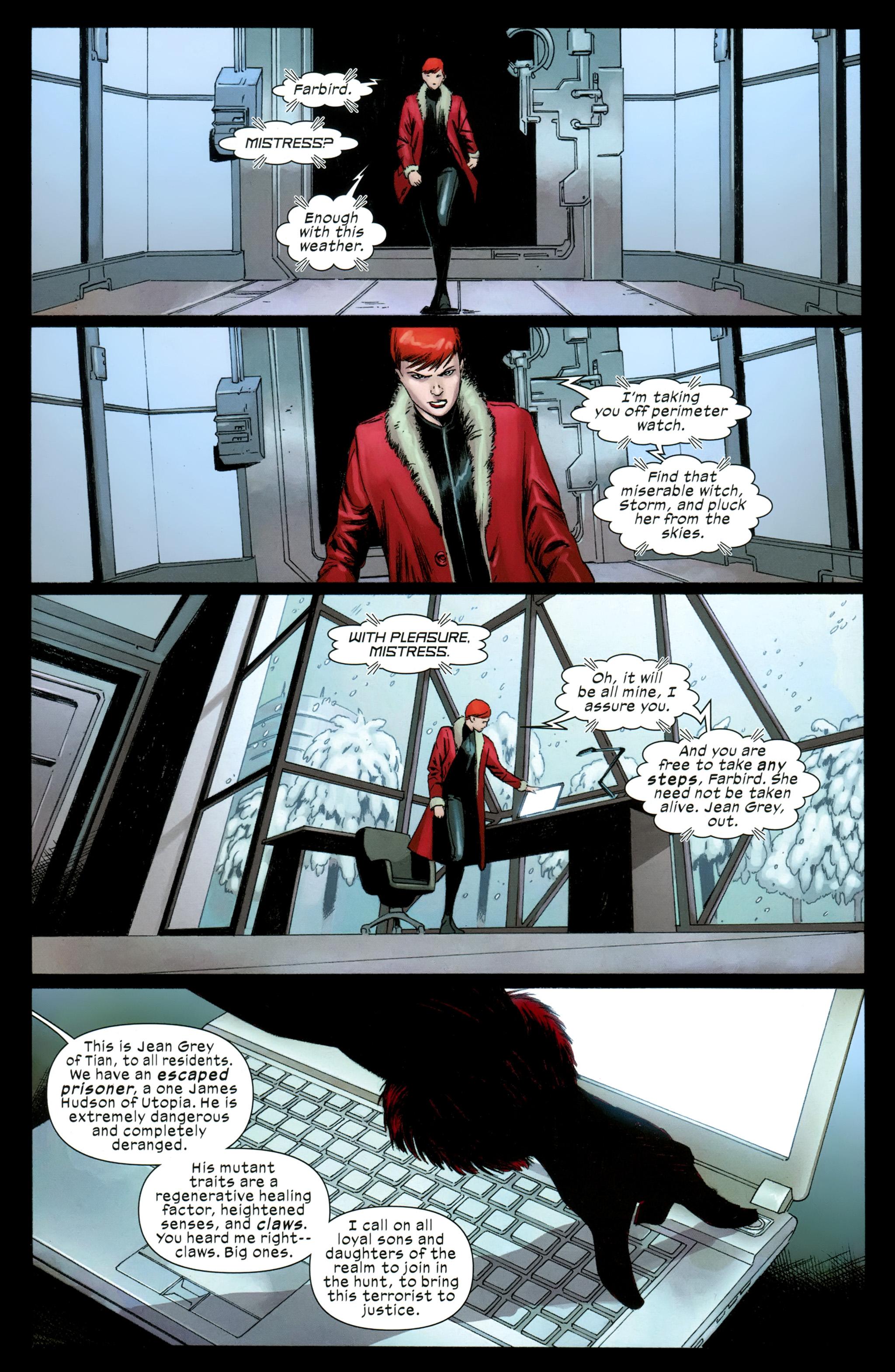 Read online Ultimate Comics X-Men comic -  Issue #31 - 21