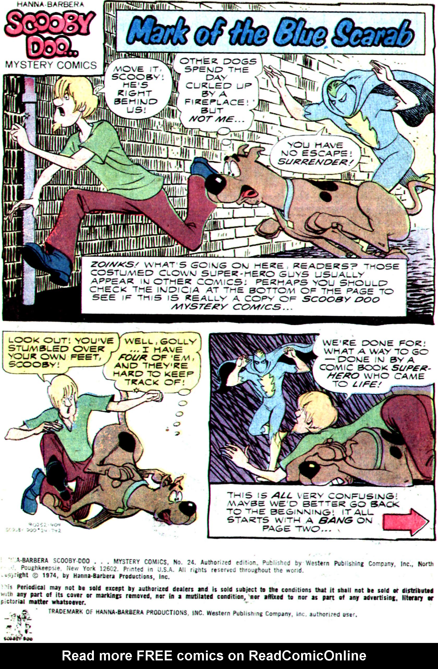 Read online Scooby-Doo... Mystery Comics comic -  Issue #24 - 3