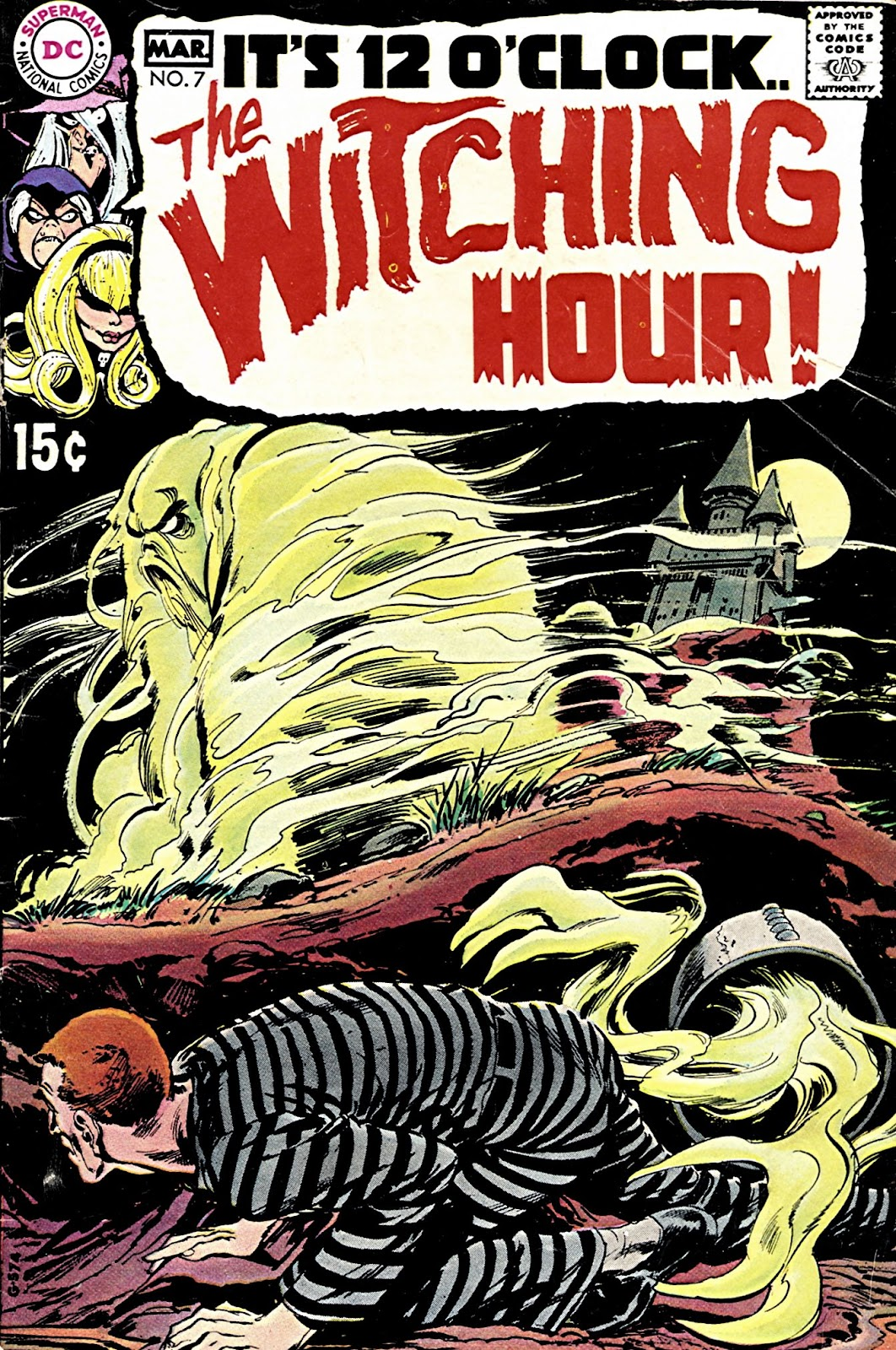 The Witching Hour (1969) issue 7 - Page 1