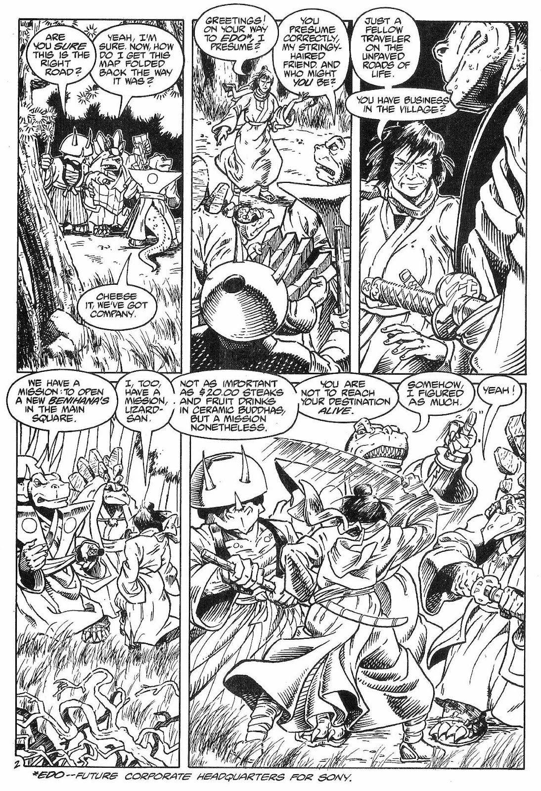 Dinosaurs For Hire (1988) issue 8 - Page 4