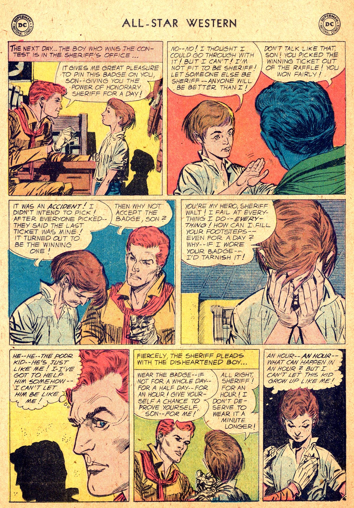 Read online All-Star Western (1951) comic -  Issue #104 - 8