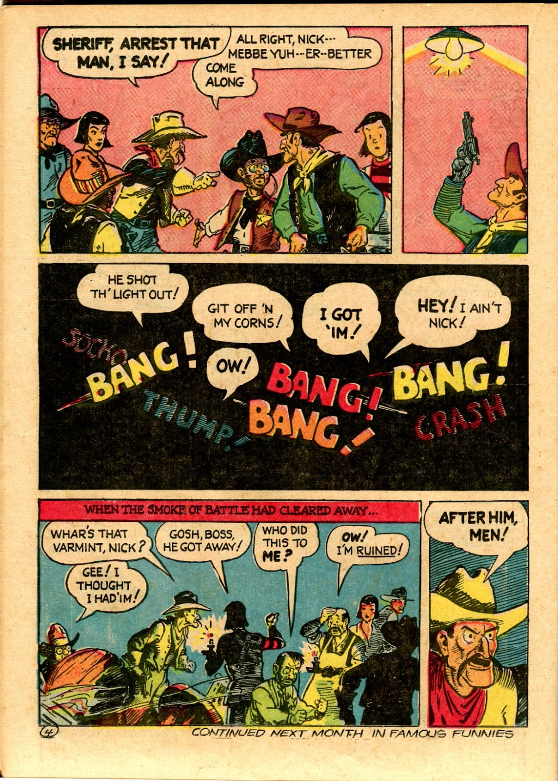 Read online Famous Funnies comic -  Issue #101 - 46