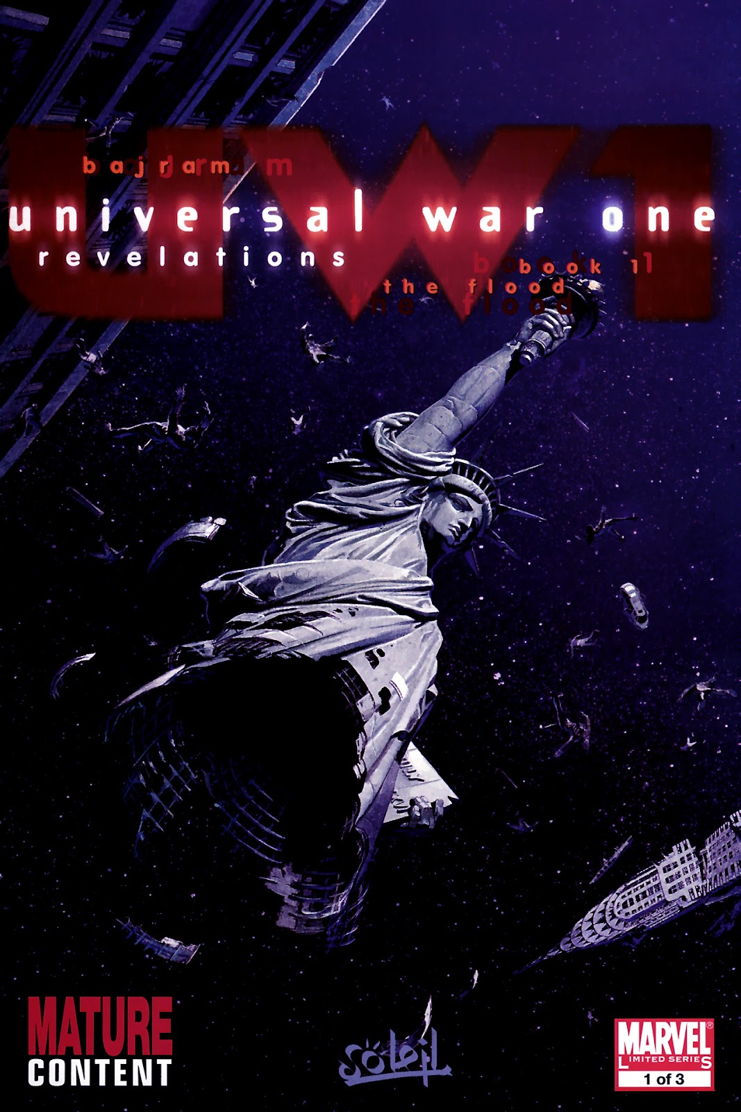 Read online Universal War One: Revelations comic -  Issue #1 - 1