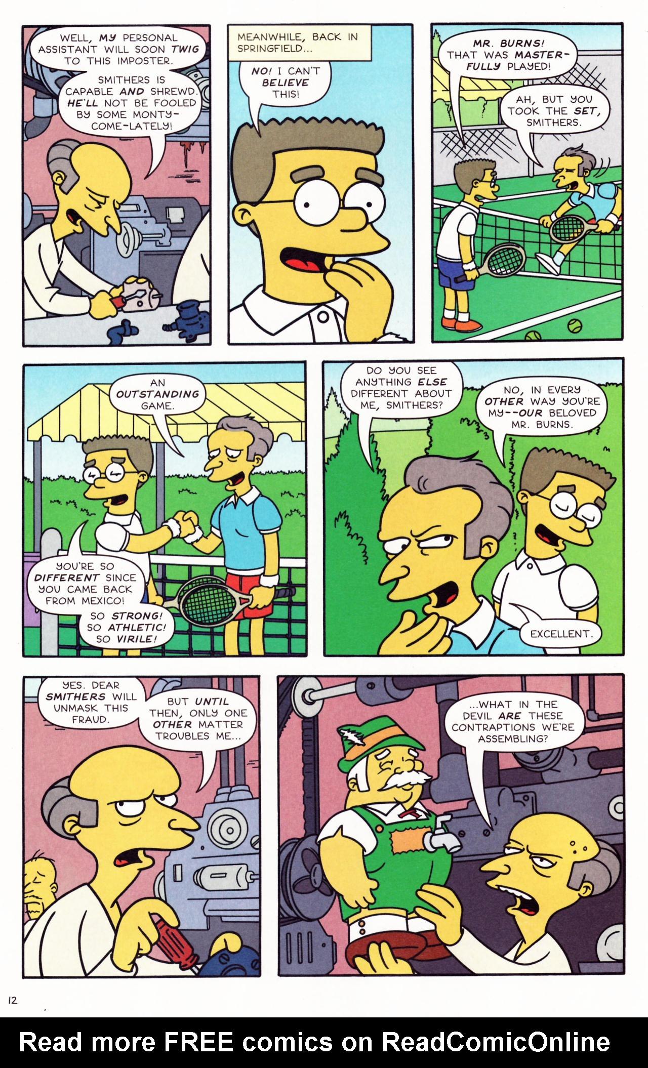 Read online Simpsons Comics comic -  Issue #132 - 12