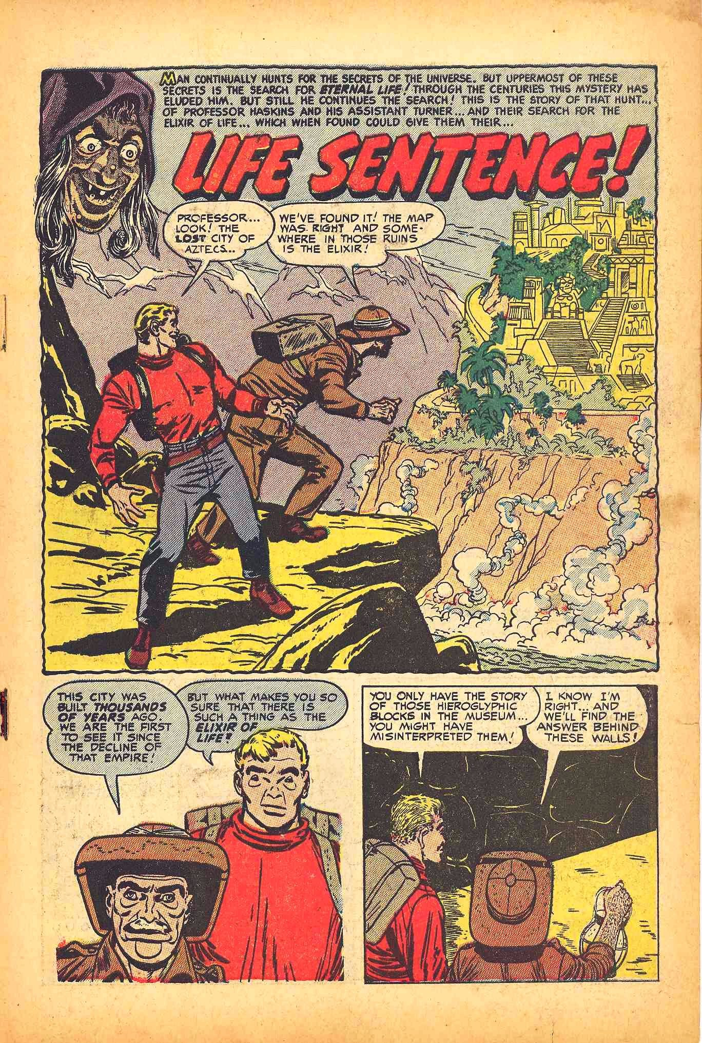 Weird Mysteries (1952) issue 6 - Page 3