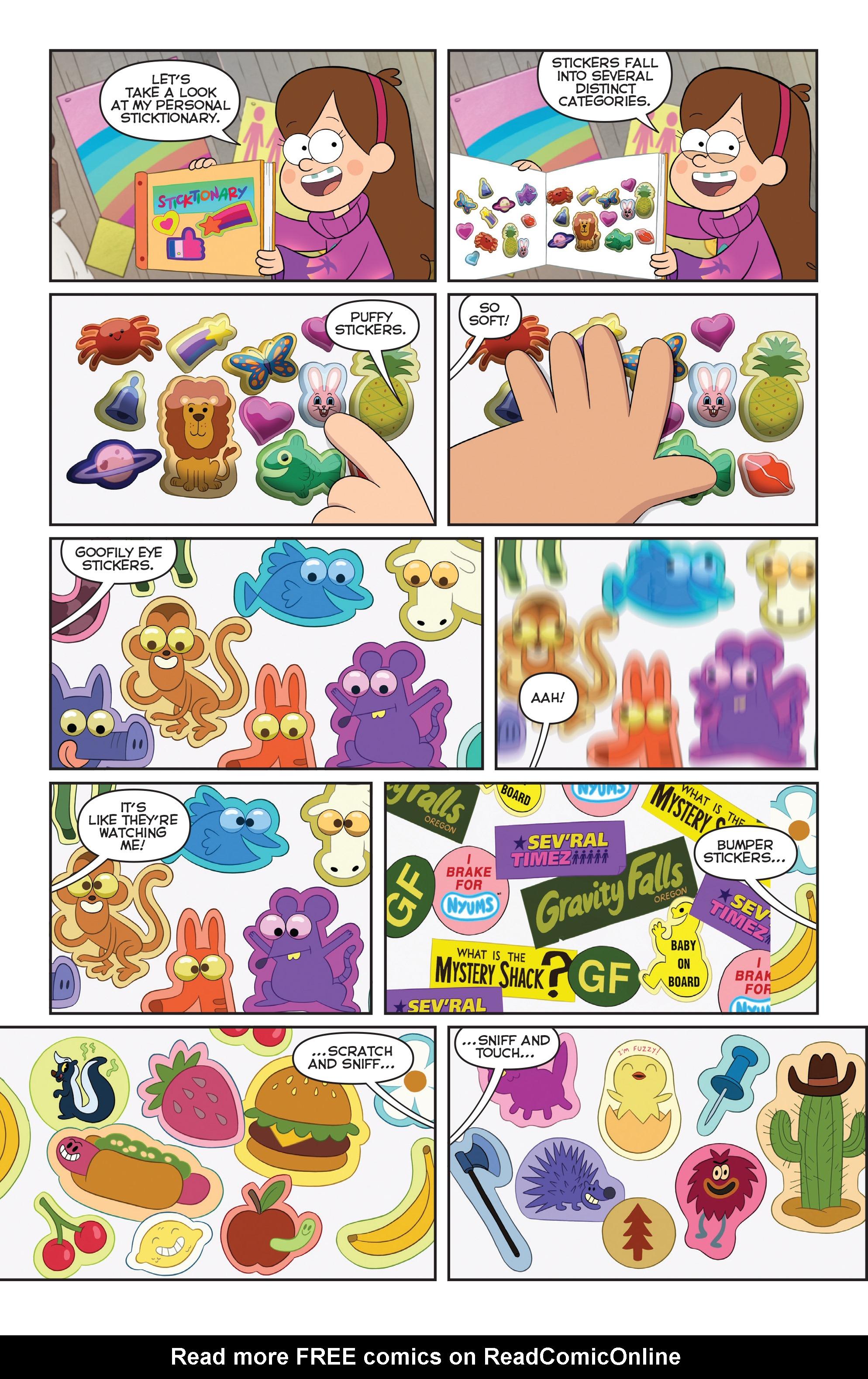 Read online Disney Gravity Falls Shorts Cinestory Comic comic -  Issue #2 - 16