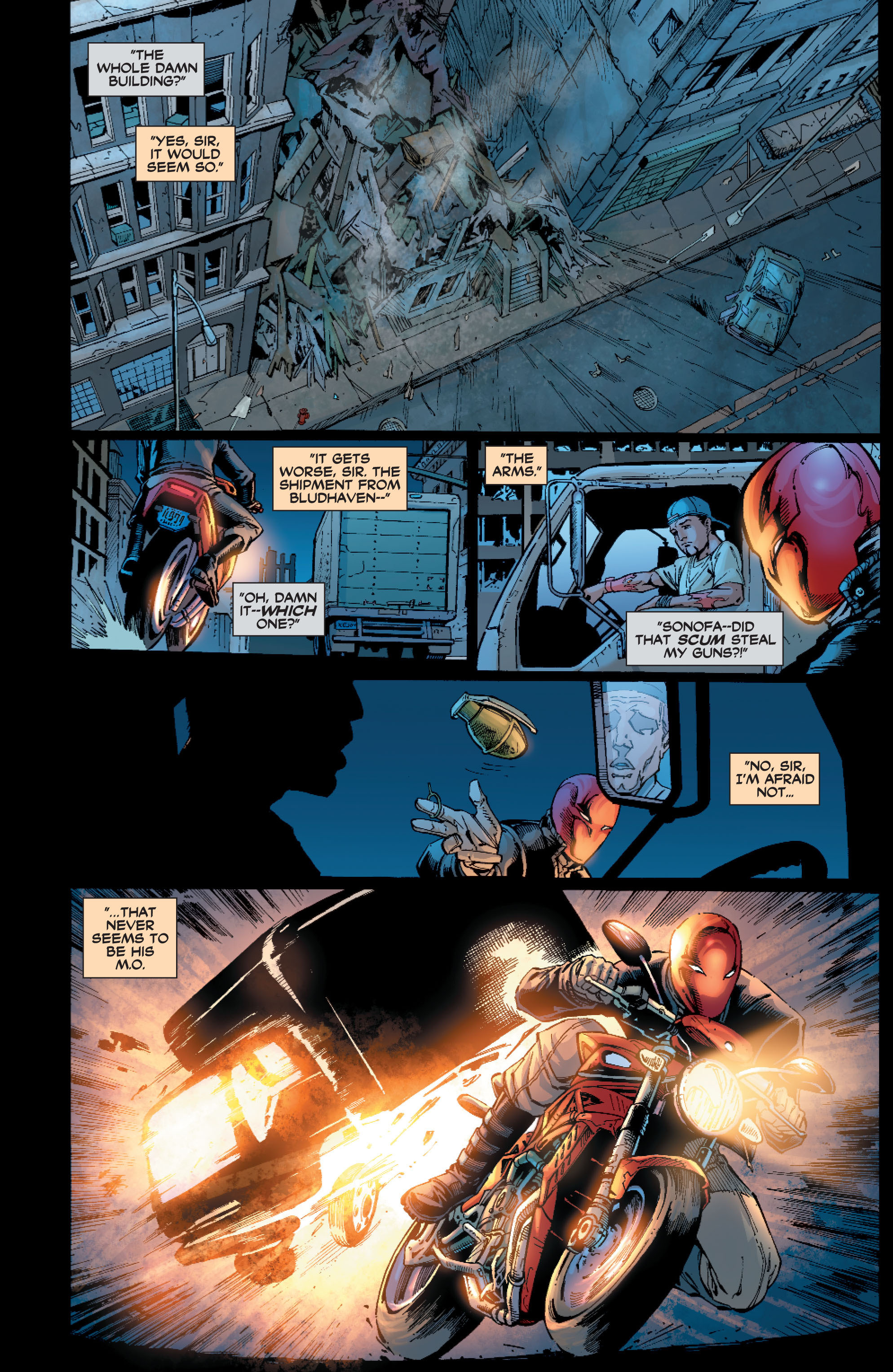 Read online Batman: Under The Red Hood comic -  Issue # Full - 209