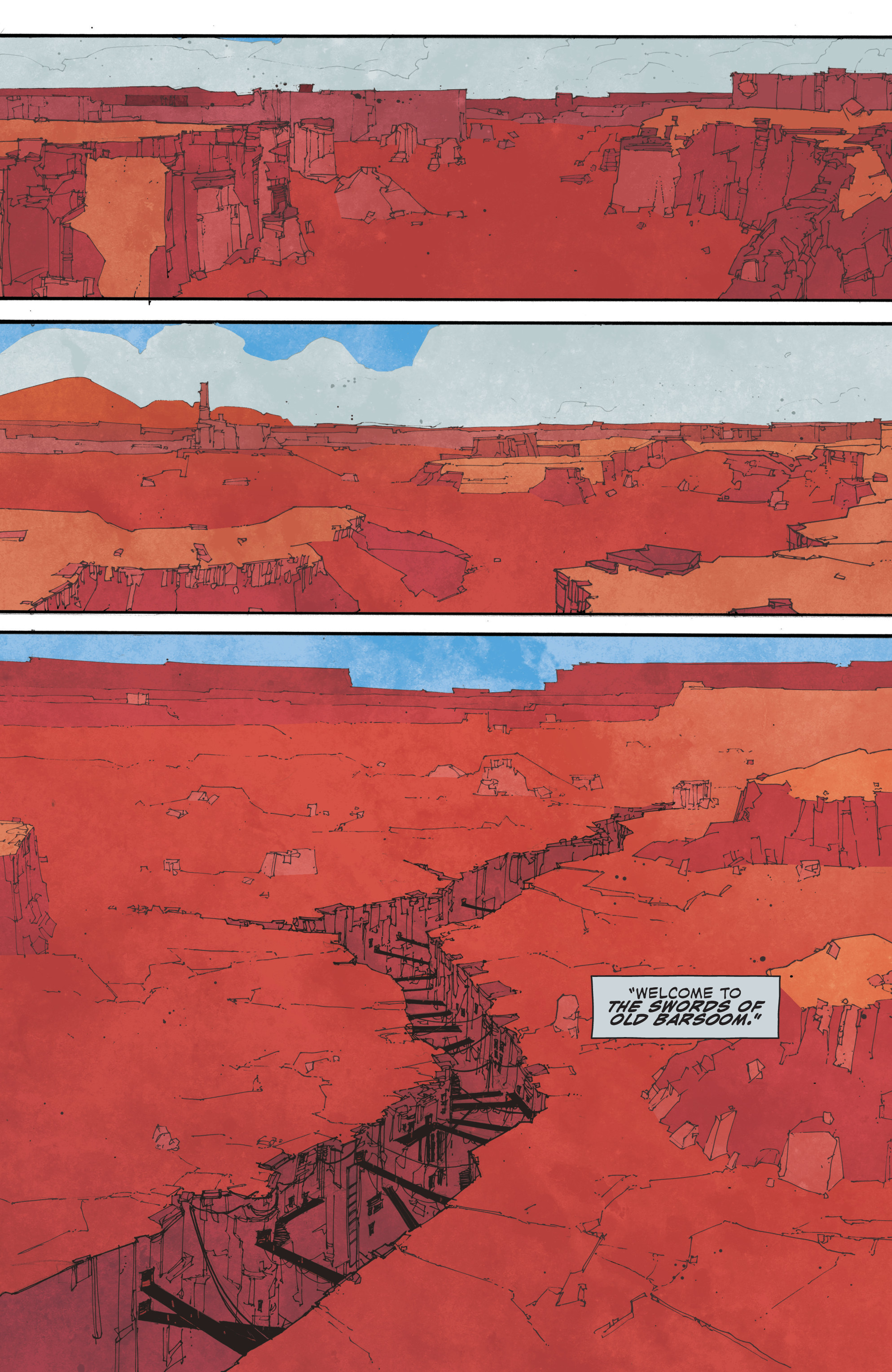 Read online John Carter: The End comic -  Issue #2 - 17