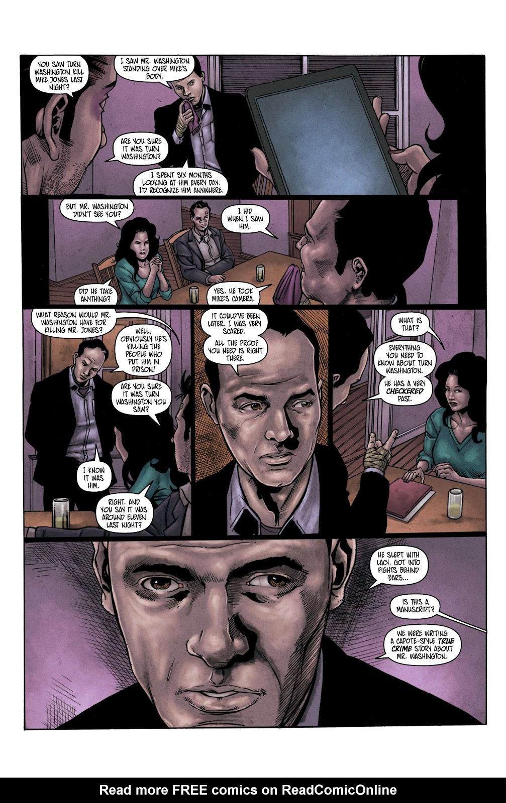 Read online Vindication comic -  Issue #3 - 18