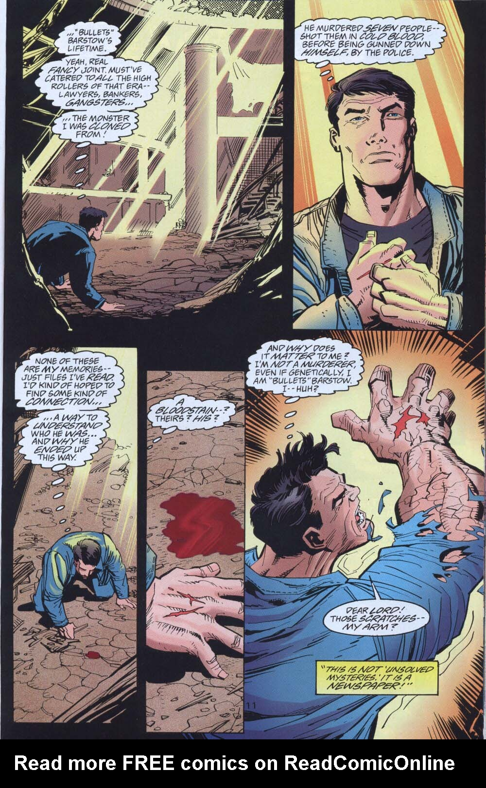Read online Adventures of Superman (1987) comic -  Issue #539 - 12