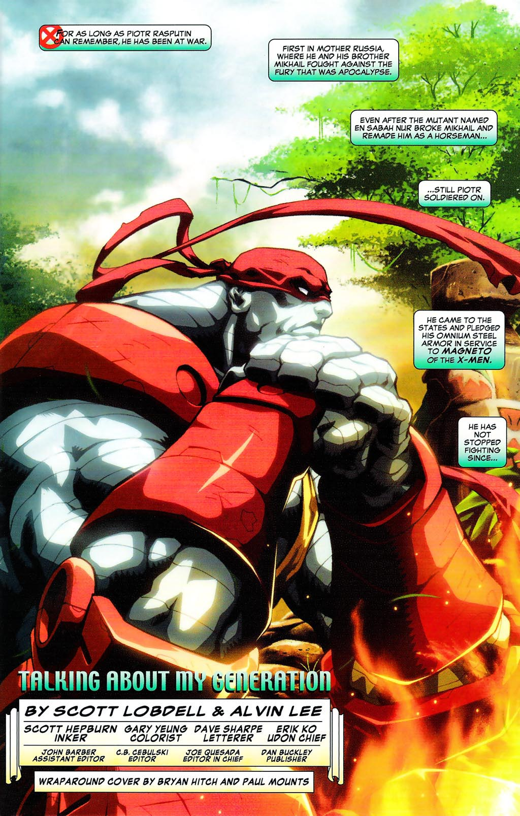 Read online Age of Apocalypse (2005) comic -  Issue #0 - 2
