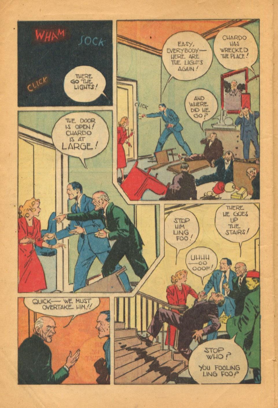 Read online Super-Magician Comics comic -  Issue #52 - 9