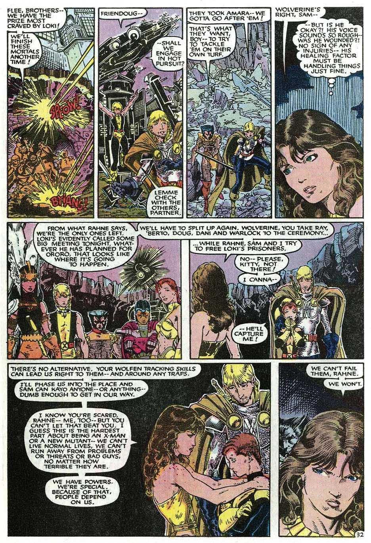 Read online Uncanny X-Men (1963) comic -  Issue # _Annual 9 - 34