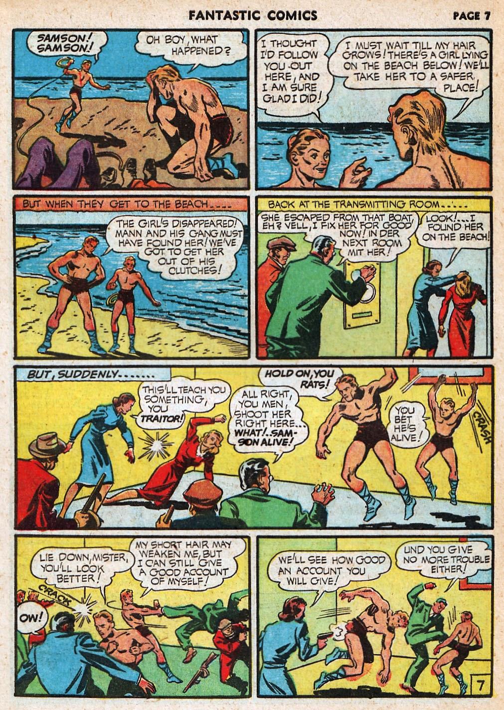 Read online Fantastic Comics comic -  Issue #20 - 8