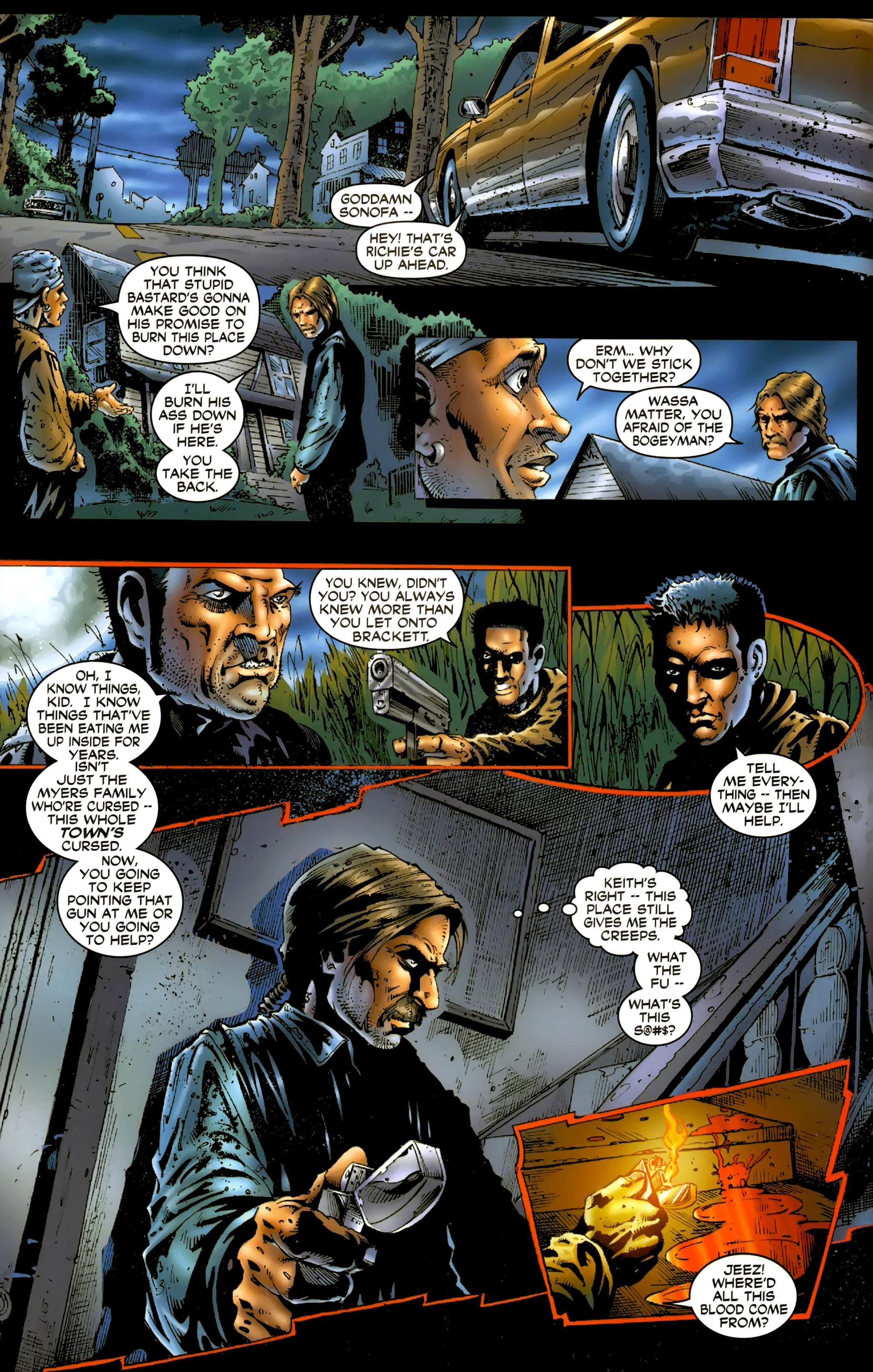 Read online Halloween II: The Blackest Eyes comic -  Issue # Full - 12