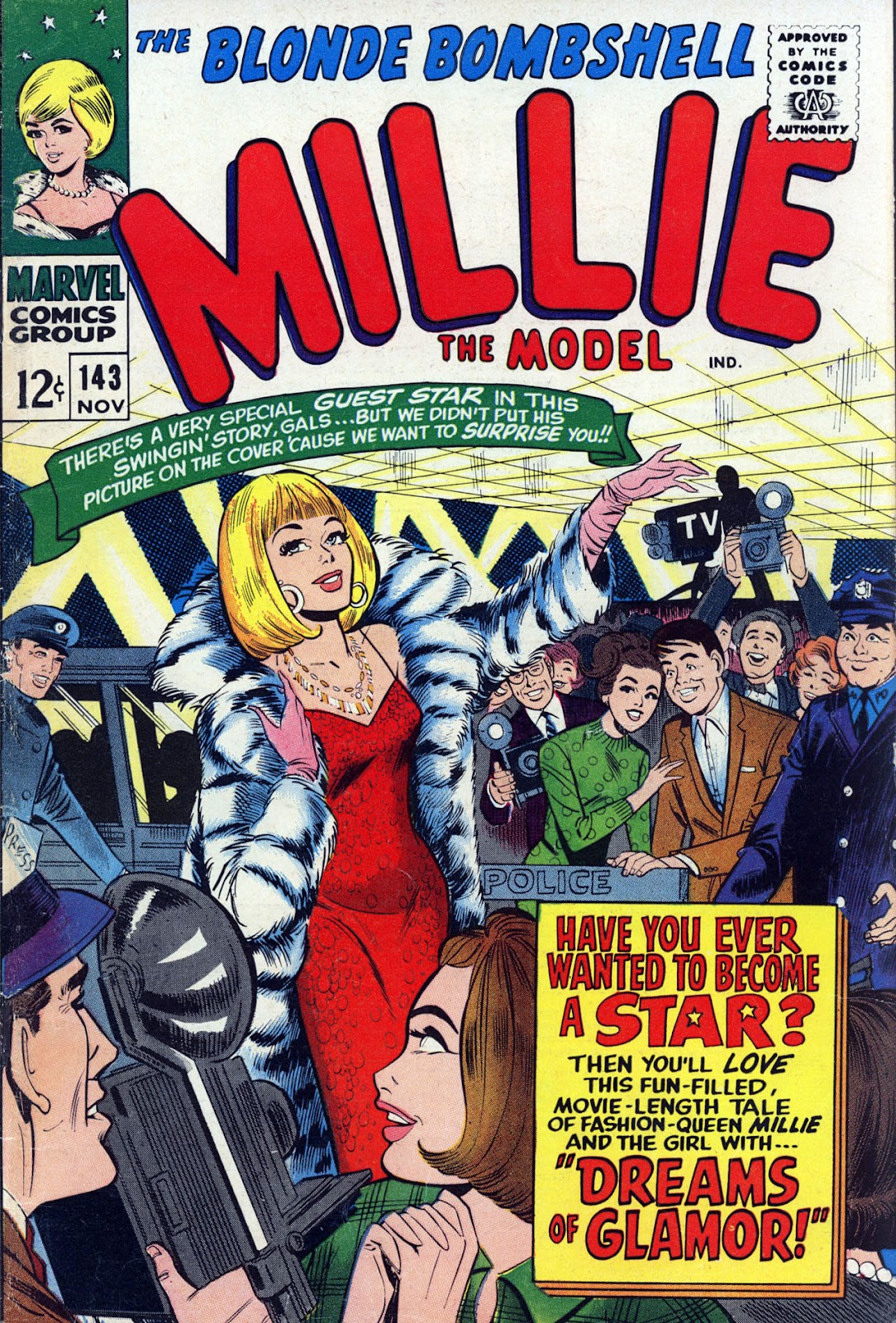 Millie the Model issue 143 - Page 1