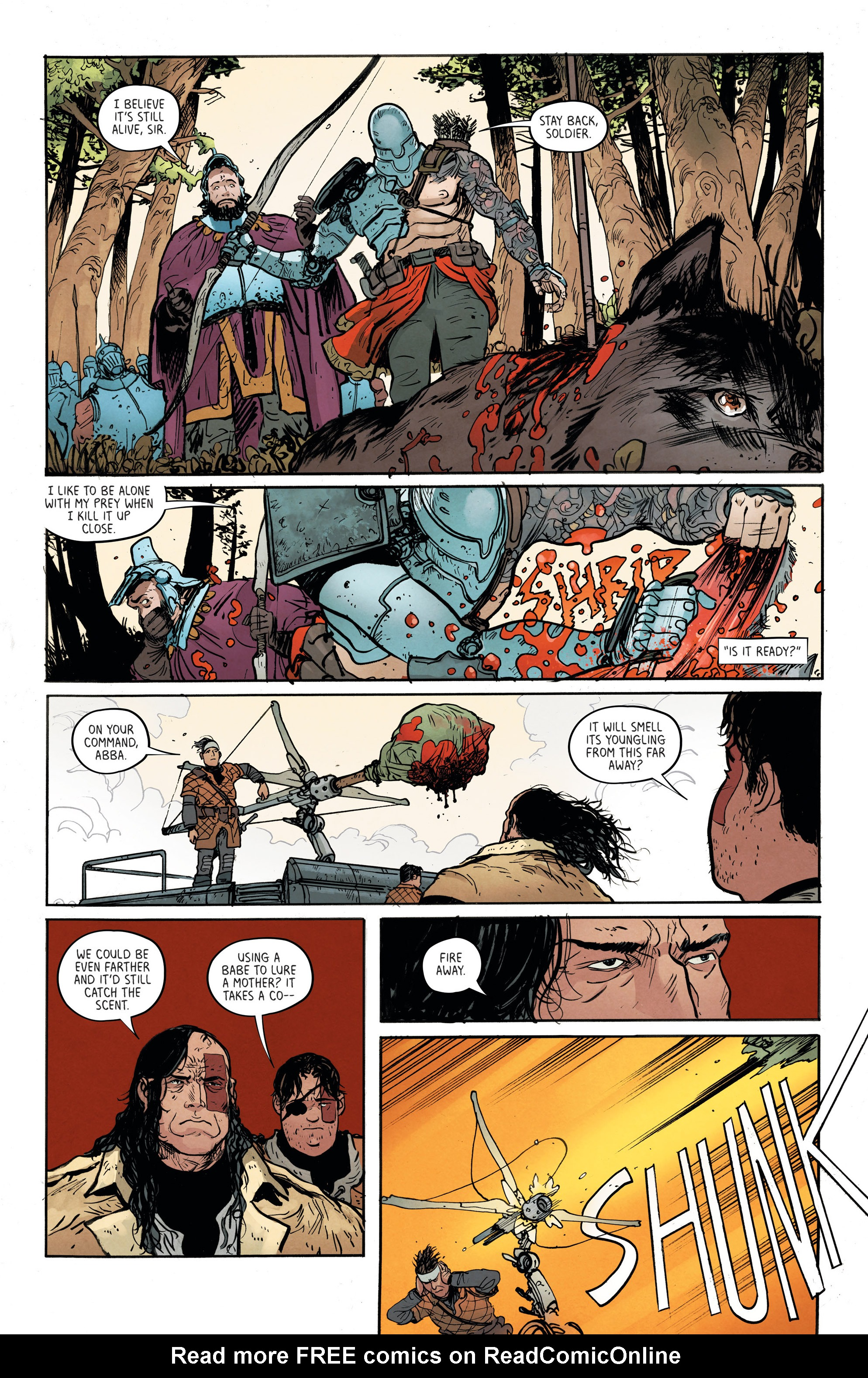 Read online Extremity comic -  Issue #3 - 10