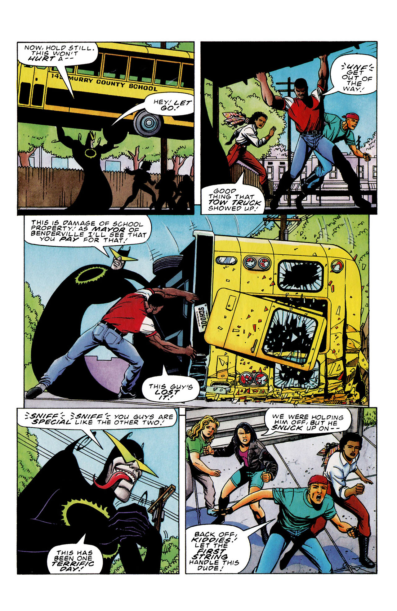 Read online Harbinger (1992) comic -  Issue #33 - 12