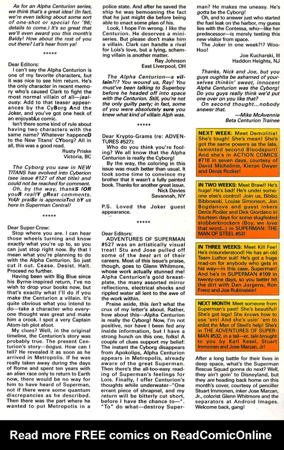 Adventures of Superman (1987) 531 Page 25