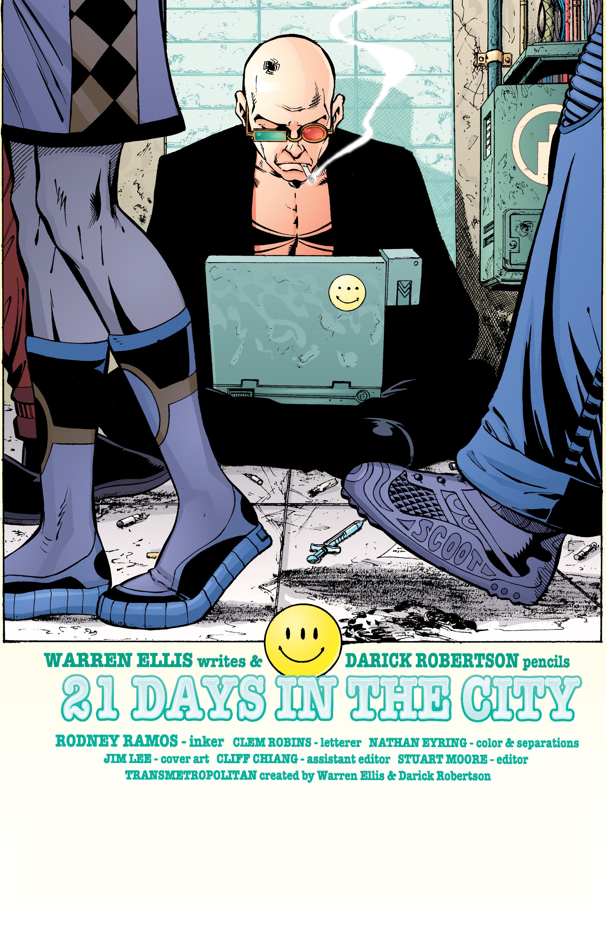 Read online Transmetropolitan comic -  Issue #26 - 2