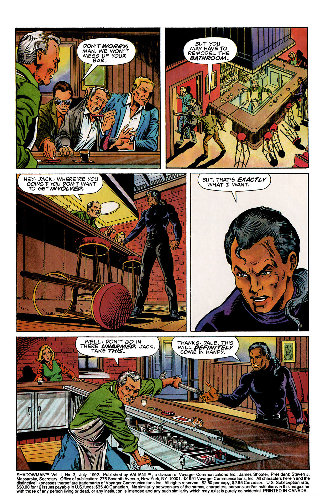 Read online Shadowman (1992) comic -  Issue #3 - 3