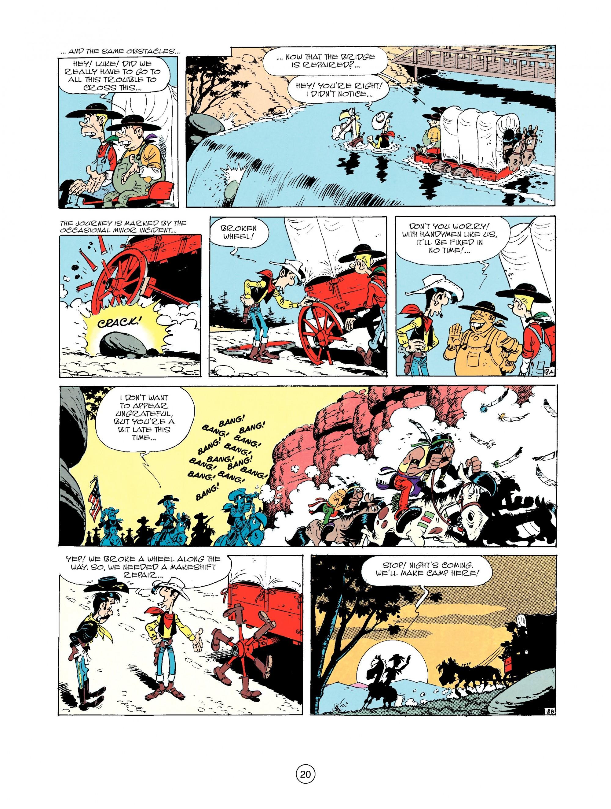 Read online A Lucky Luke Adventure comic -  Issue #33 - 20